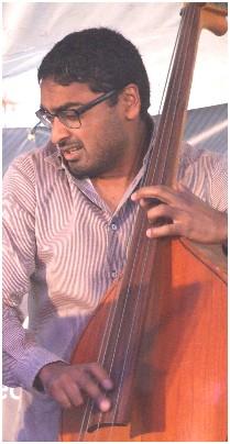 Harish Raghavan with Taylor Eigsti Quartet at 2011 Summer Solstice Festival, East Lansing MI