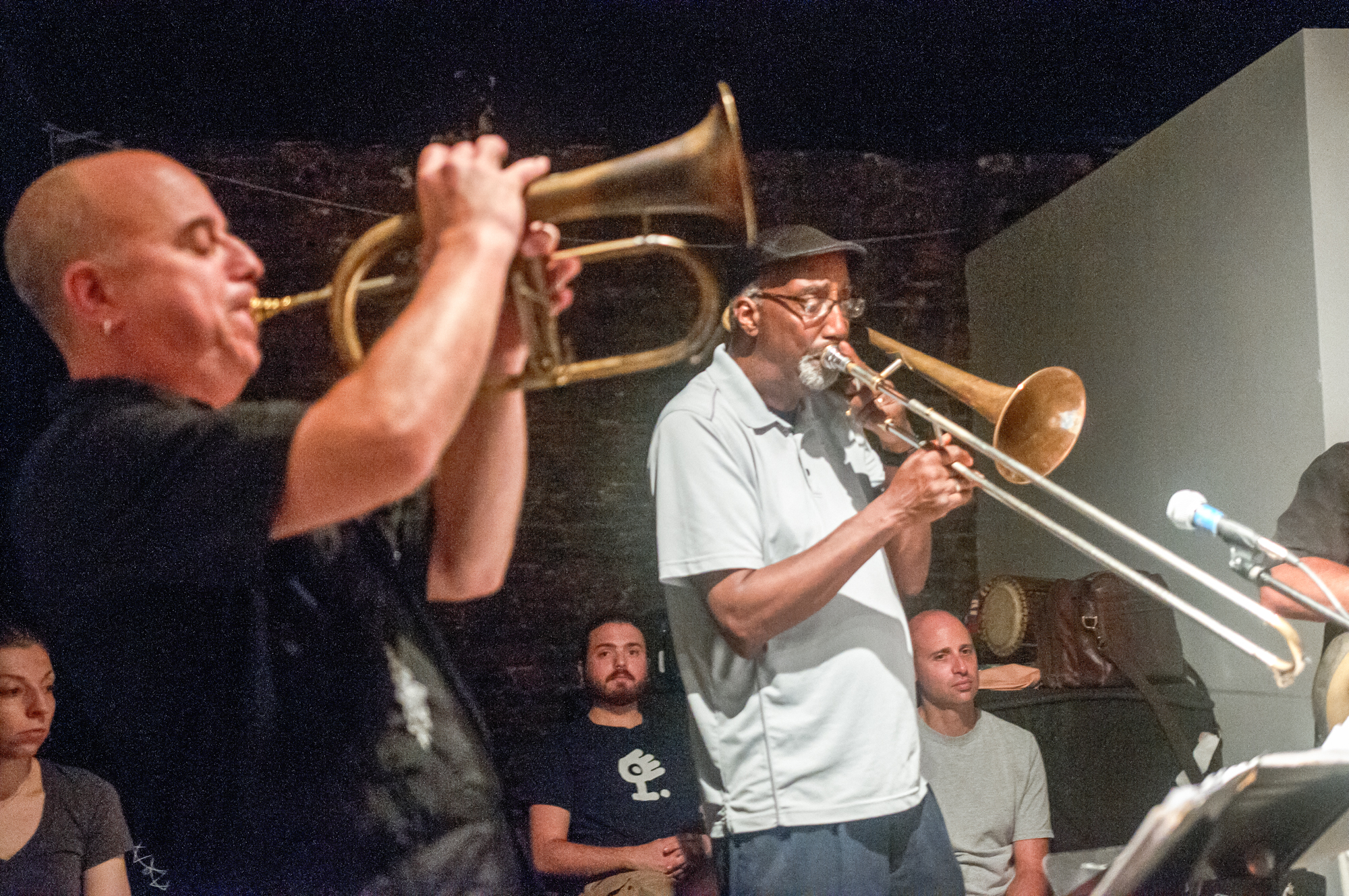 Steven Bernstein and Curtis Fowlkes with Billy Martin's Wicked Knee at the Stone in New York City