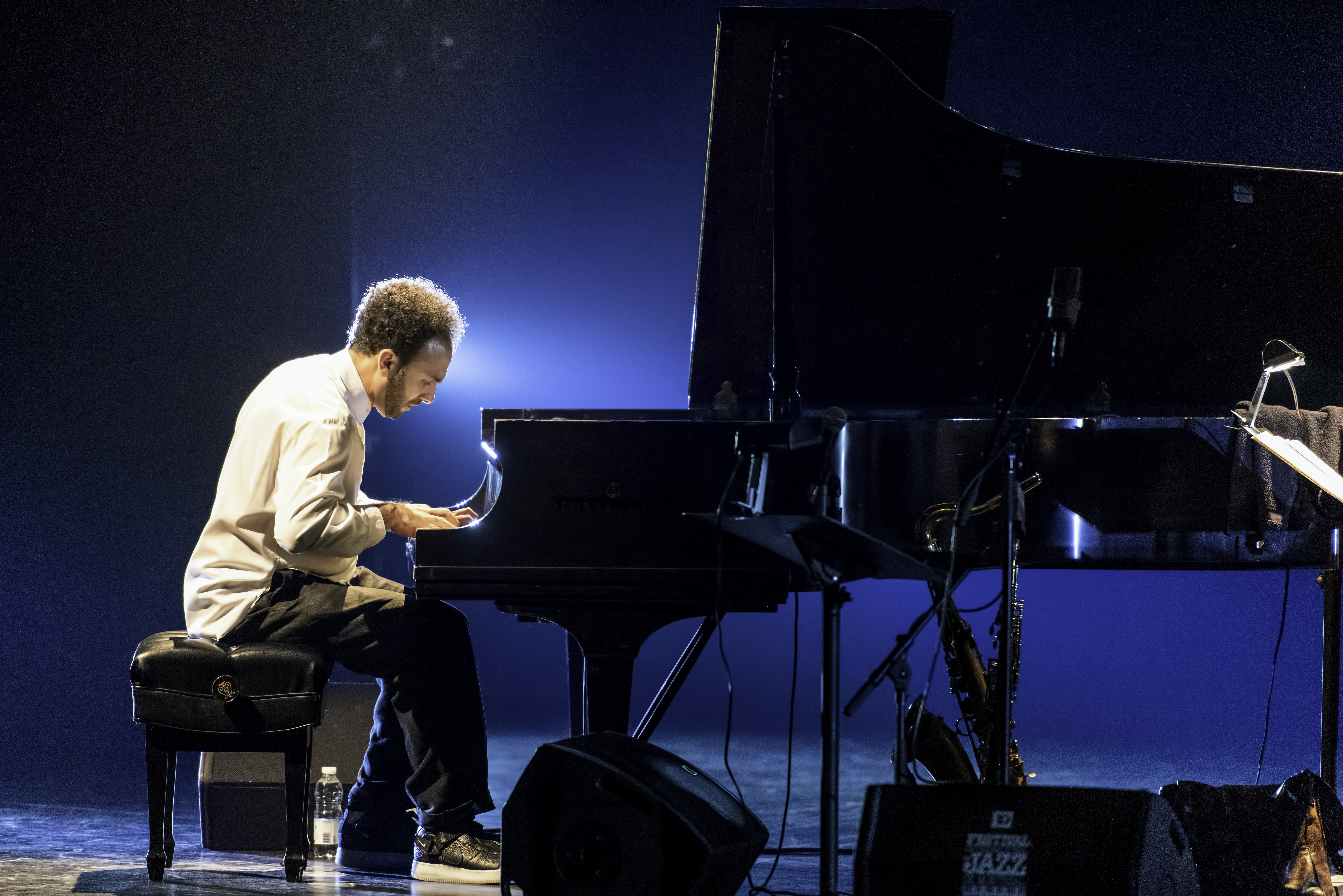 David Virelles with Ravi Coltrane At The Montreal International Jazz Festival 2019
