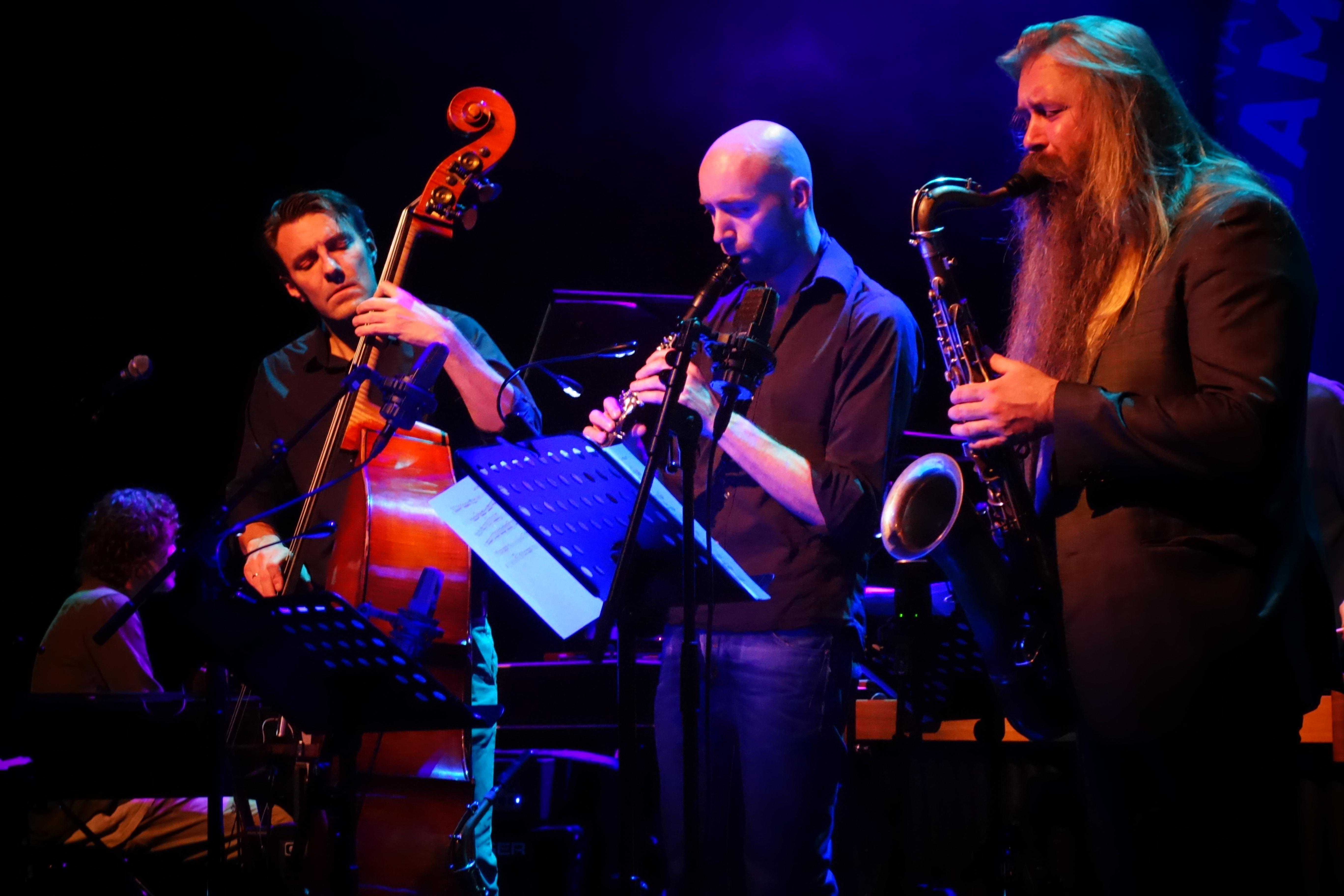 Mats Eilertsen, Eirik Hegdal, Trygve - Seim Rotterdam Jazz International Festival