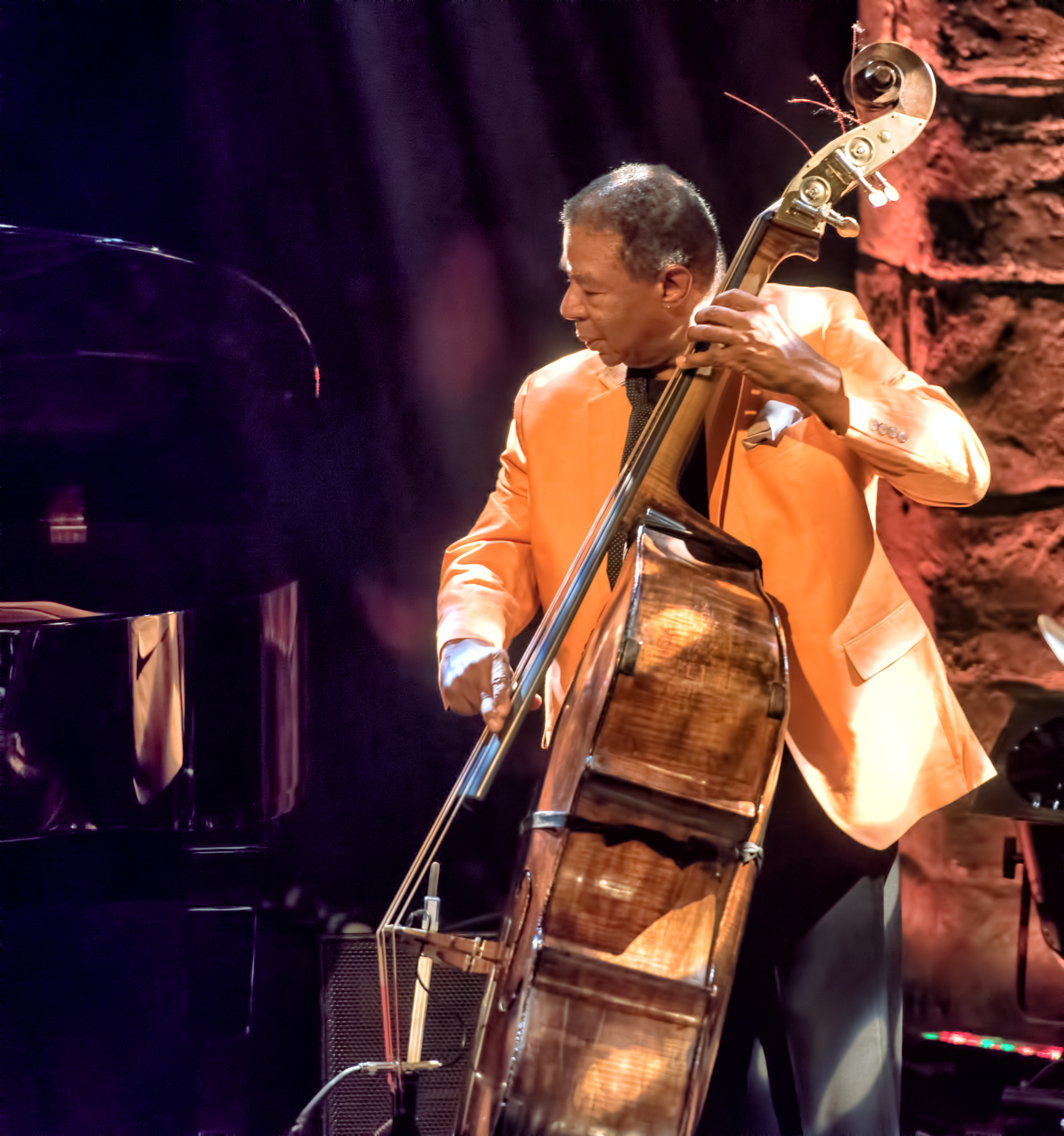Buster Williams with Heads of State at the Montreal International Jazz Festival 2015