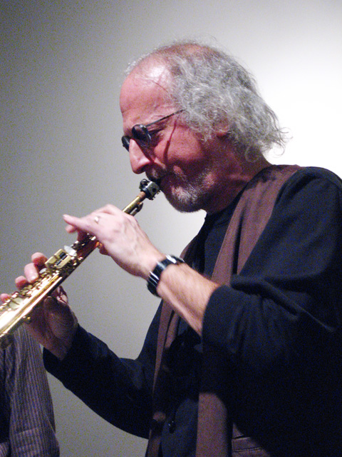 Larry Ochs from Rova Saxophone Quartet - Cue Art Foundation 2007