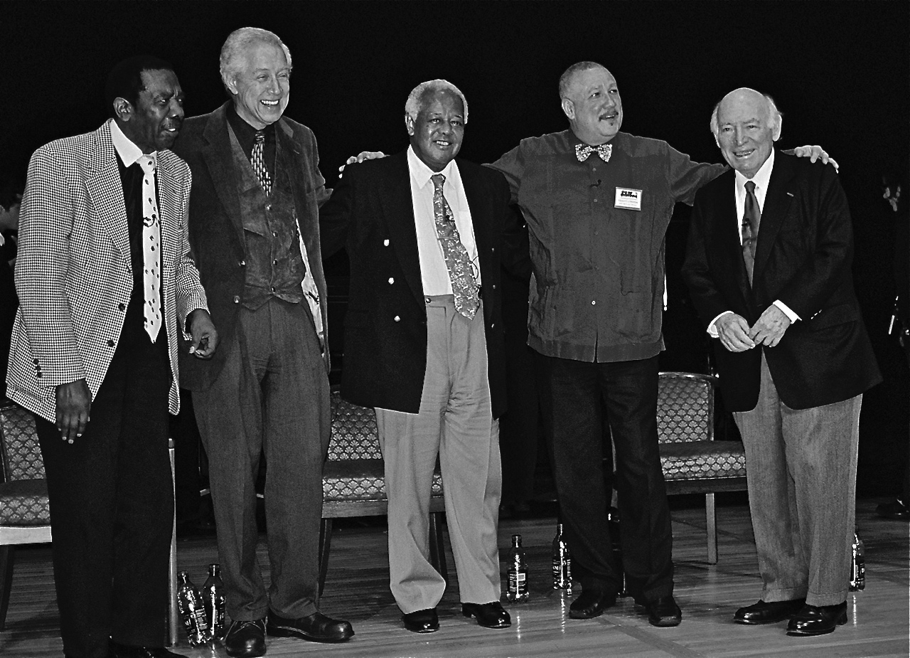 Jimmy Smith, Kenny Burrell, Slide Hampton, Paquito D'Rivera, George Wein