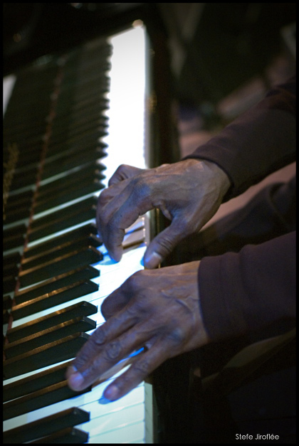 George Cables Hands on Piano