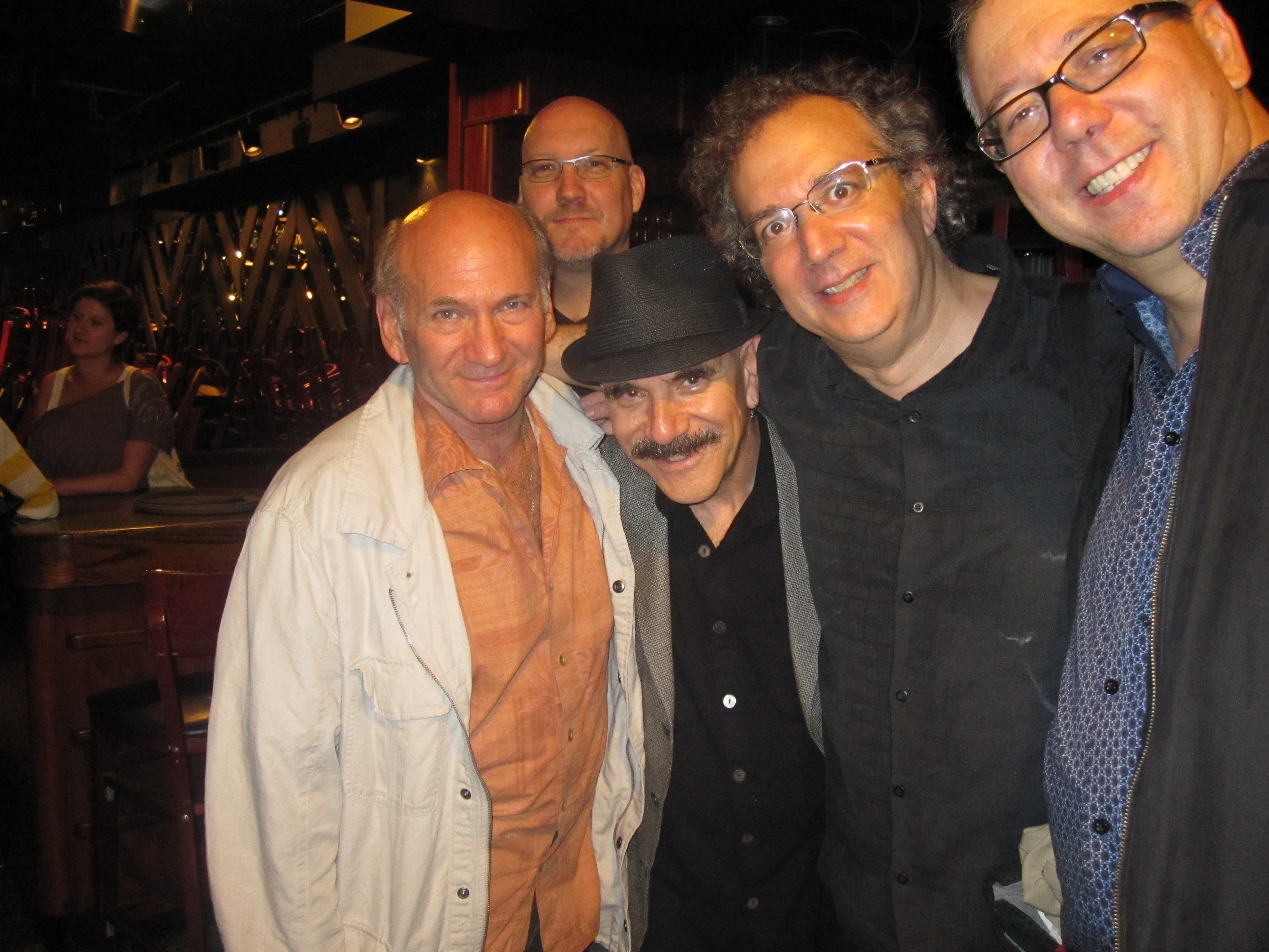 At the Blue Note with Dave Liebman, Scott Colley, Michael Stephans, Uri Caine, Marty Ehrlich
