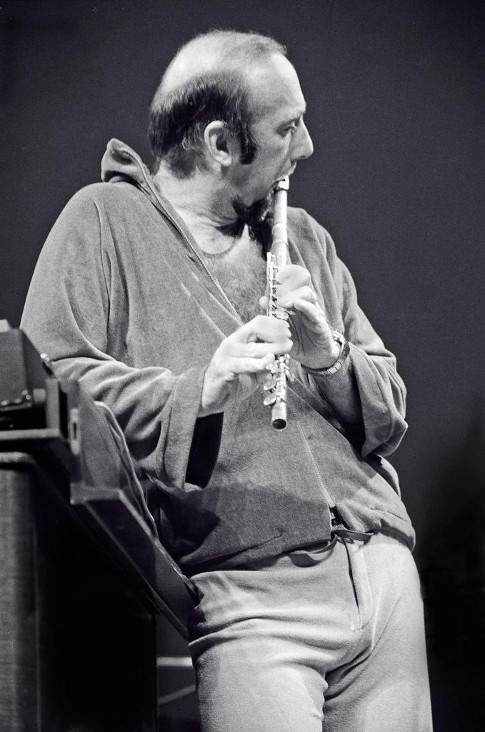 Herbie Mann at Eastman Theatre, Rochester, N.Y. 1975