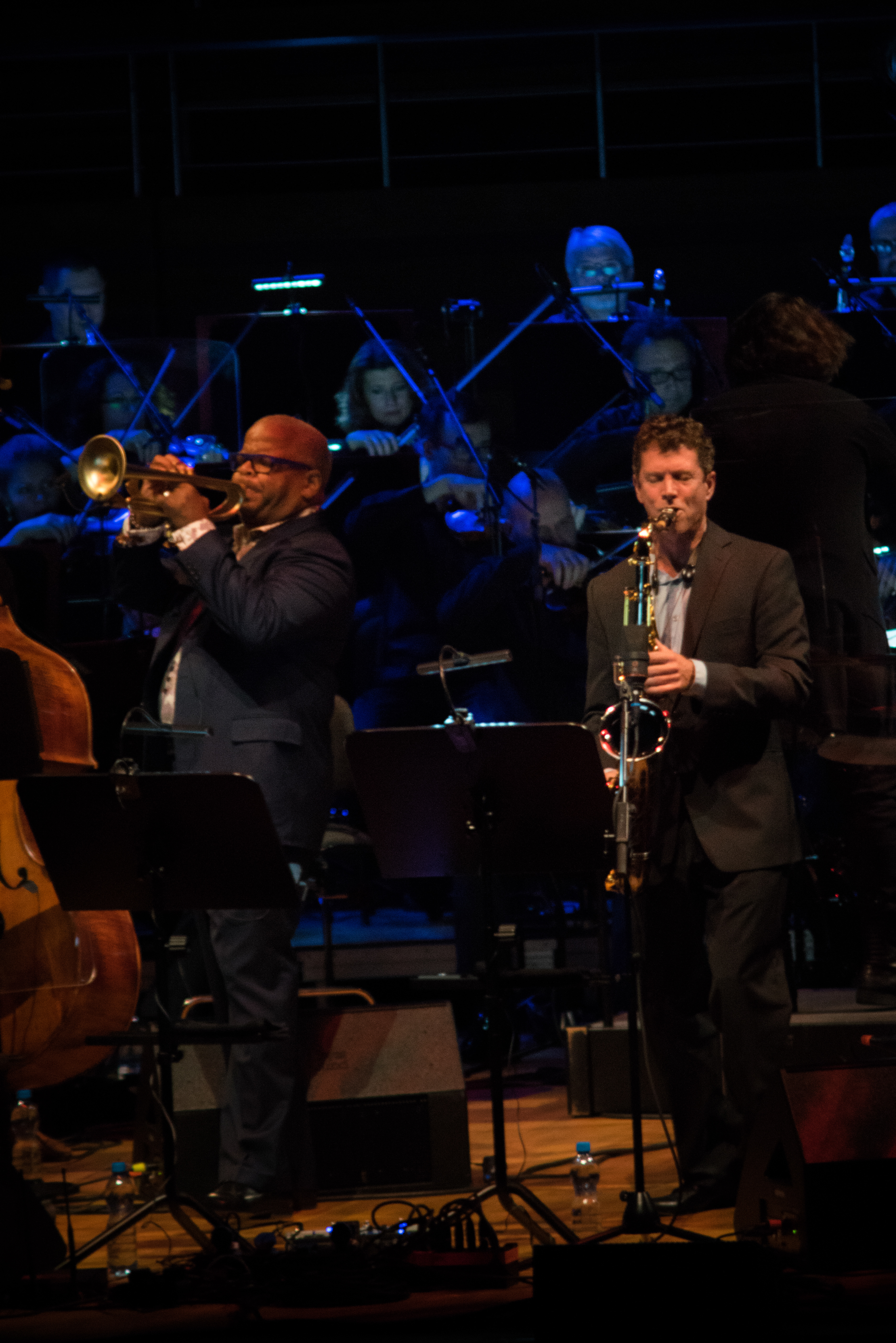 Terence Blanchard & Brice Winston