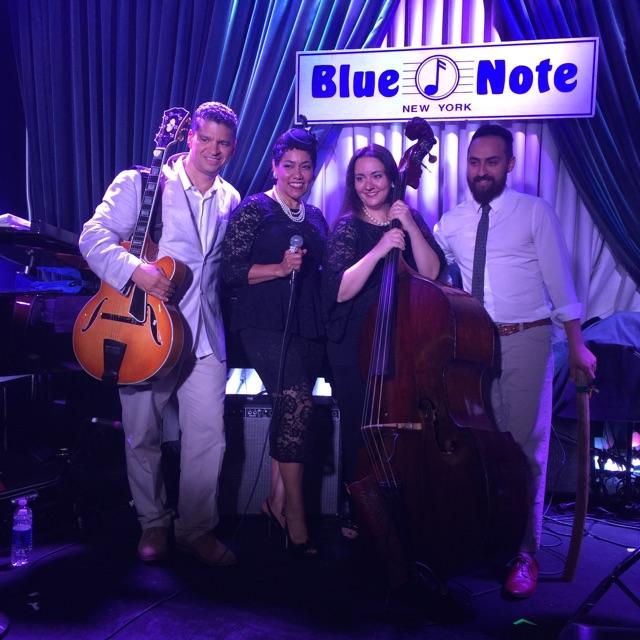 Davis, Bryant,Vincent, Torres @ Blue Note