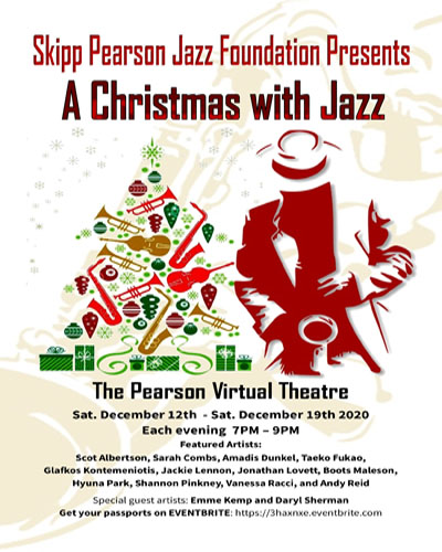 Skipp Pearson Jazz Foundation Presents A Christmas With Jazz