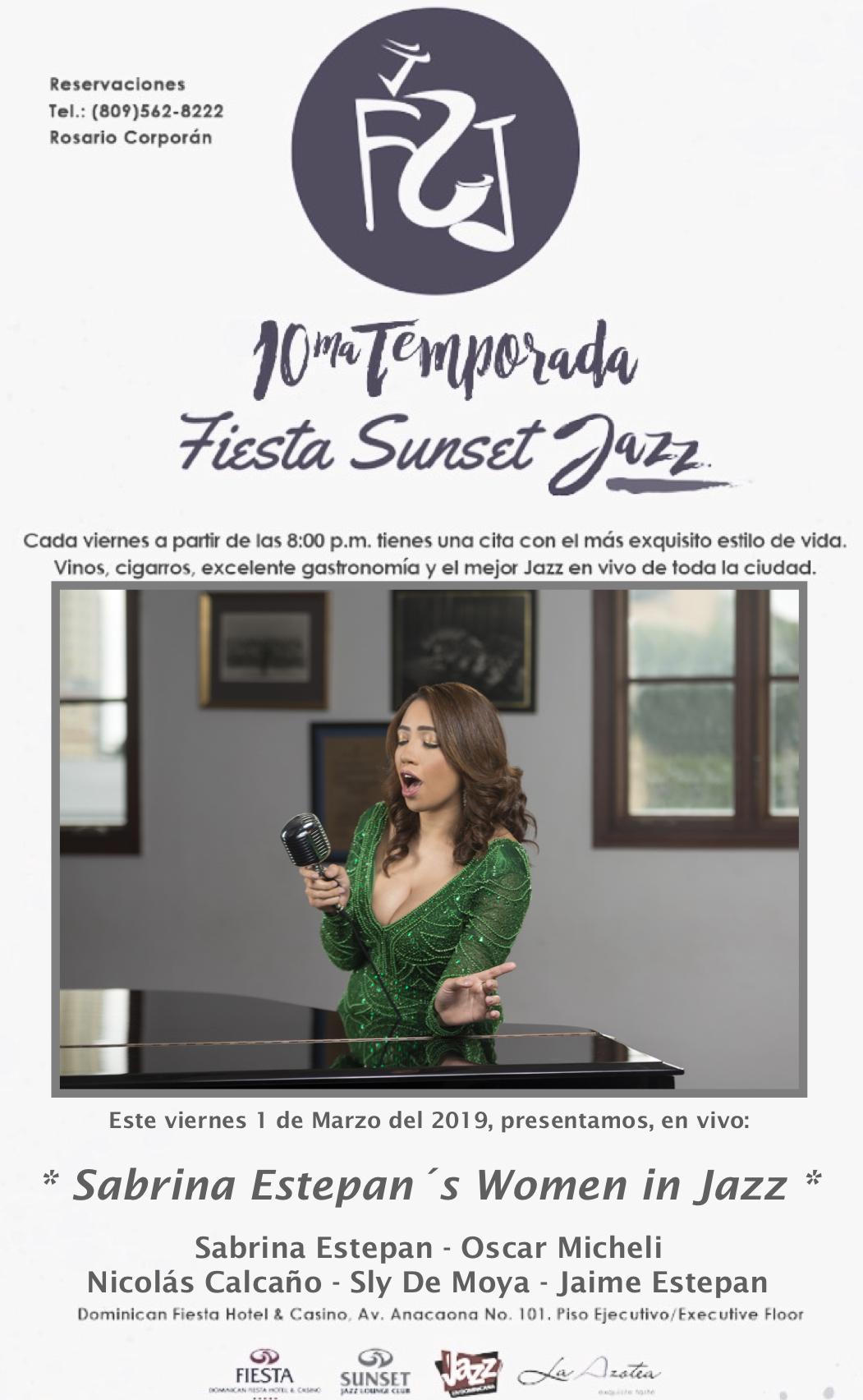 Sabrina Estepan Women in Jazz