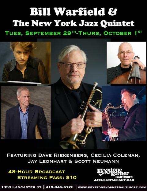 Bill Warfield & The New York Jazz Quintet