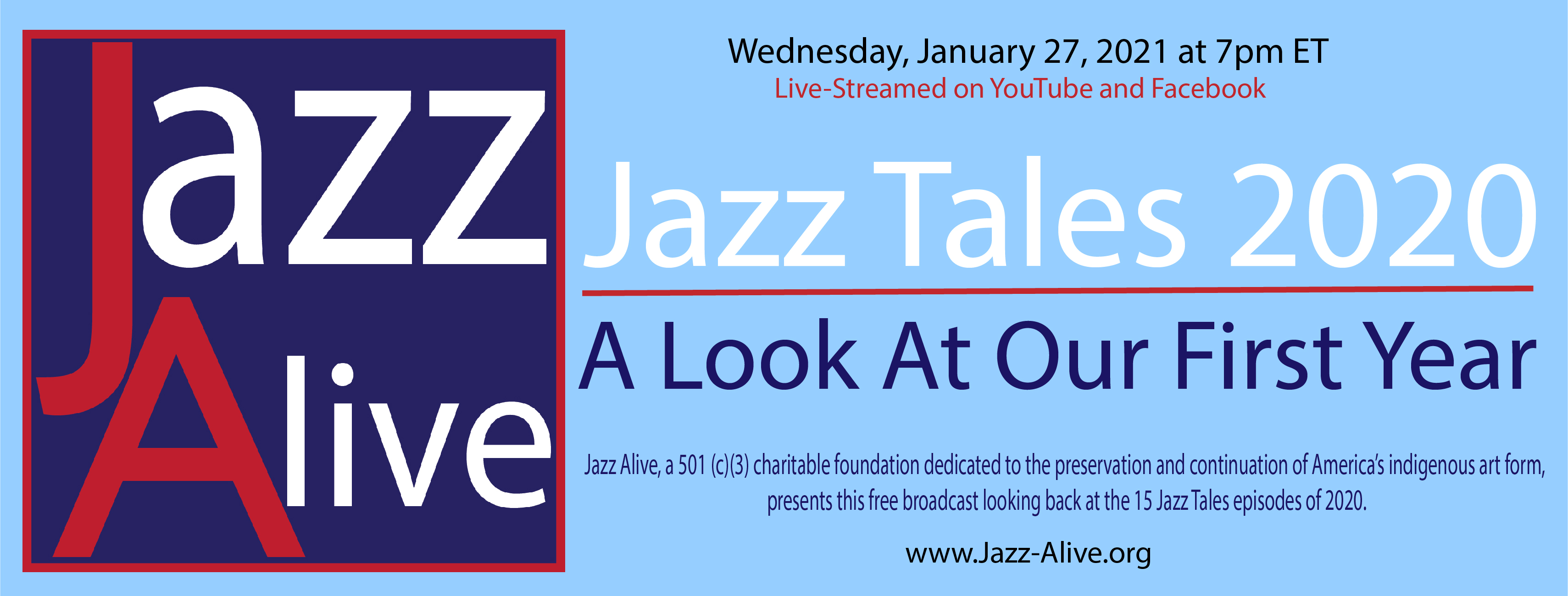 Jazz Tales 2020: A Look At Our First Year