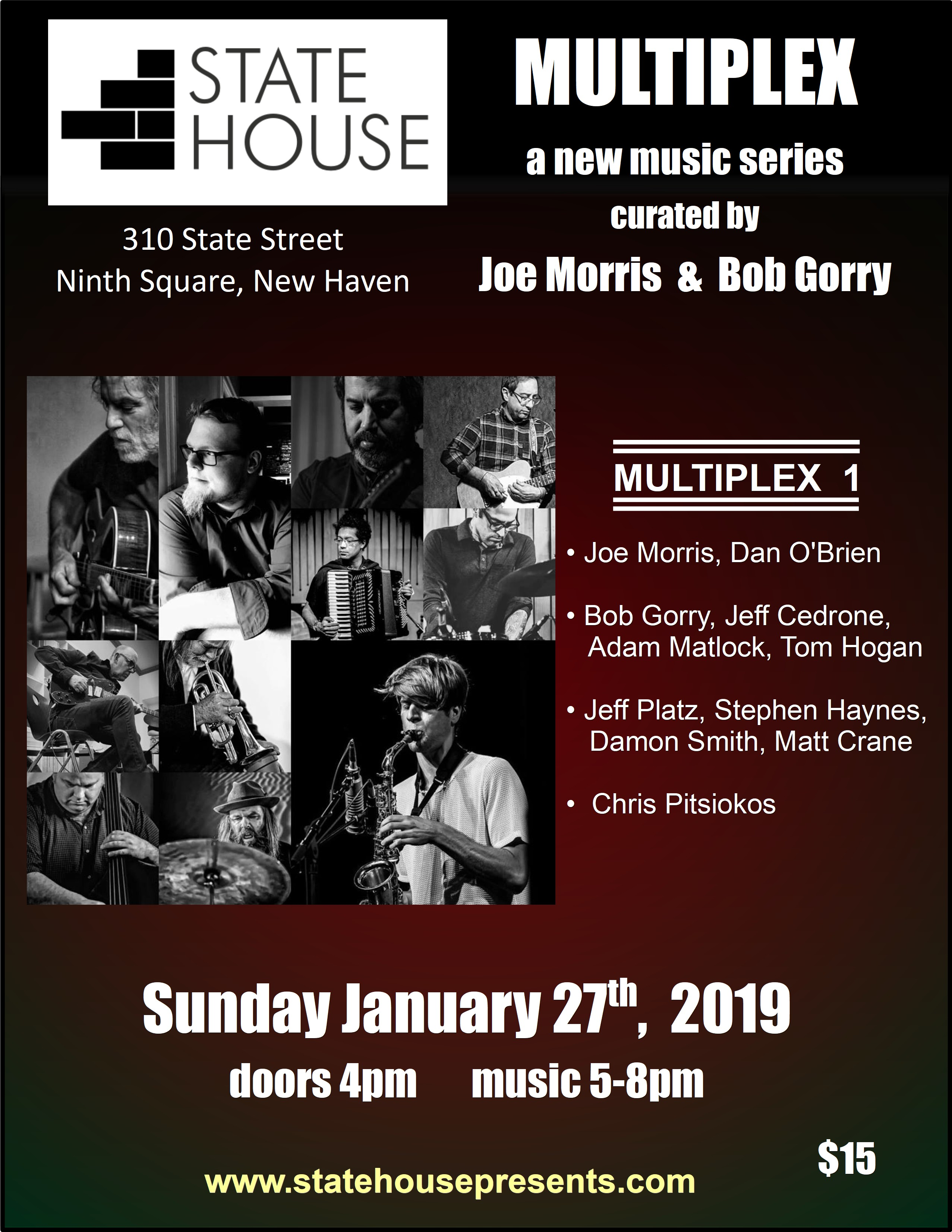 Multiplex Series with Joe Morris and Bob Gorry