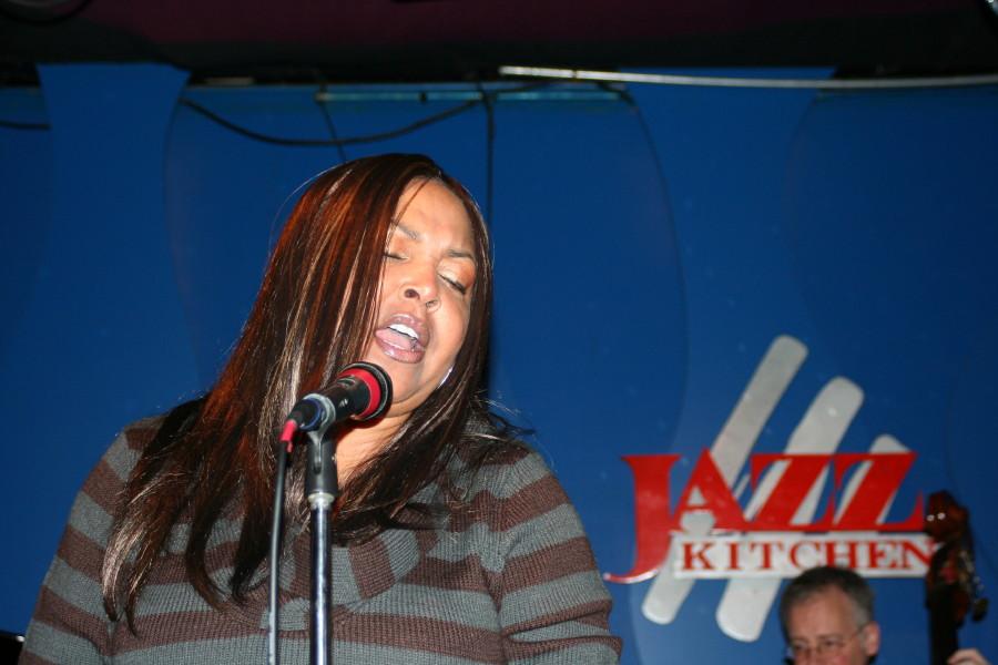 Cynthia Layne @Jazz Kitchen