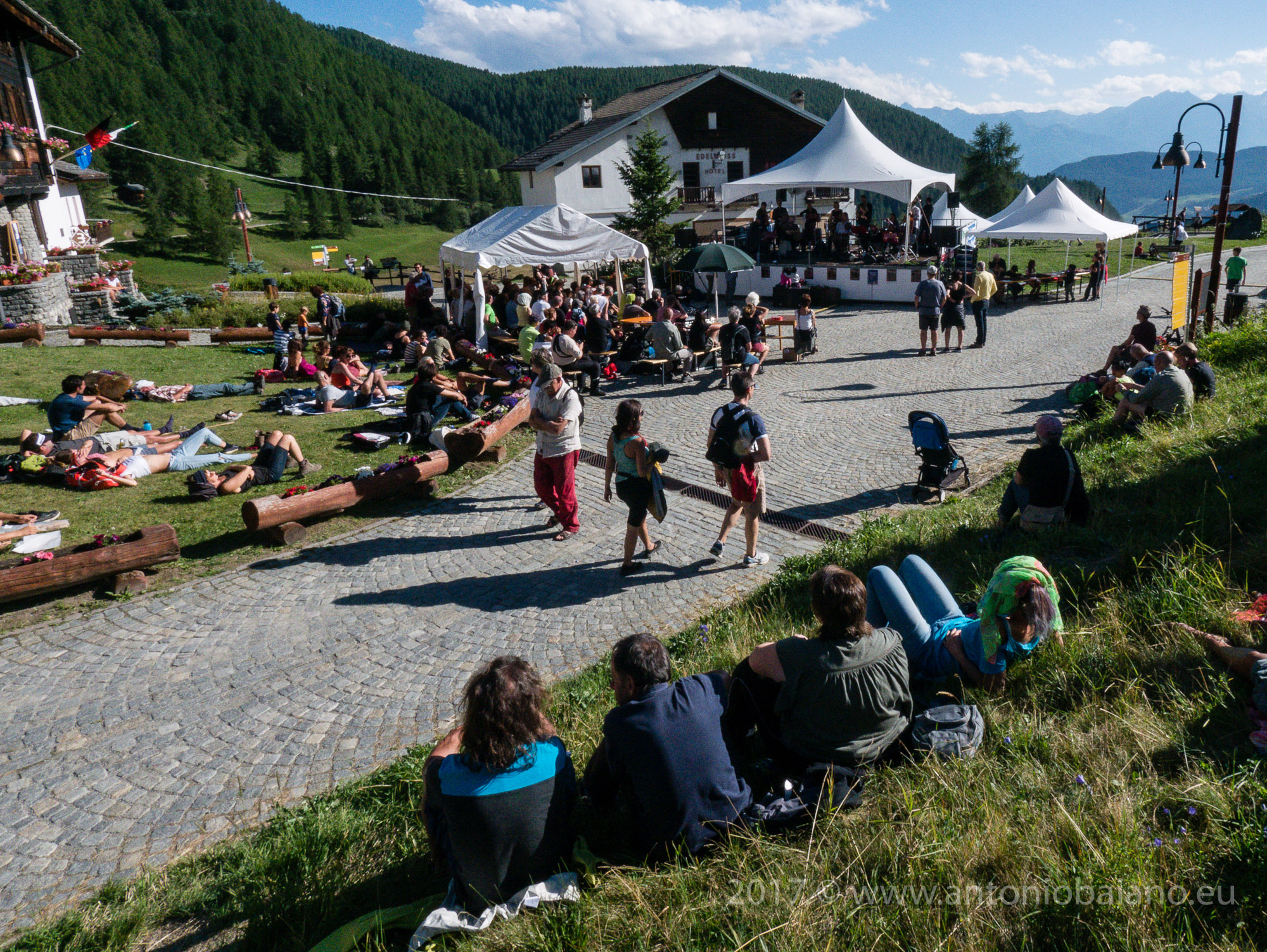 Chamoisic Festival 2017; Chamois, Valle D'Aosta, Italy