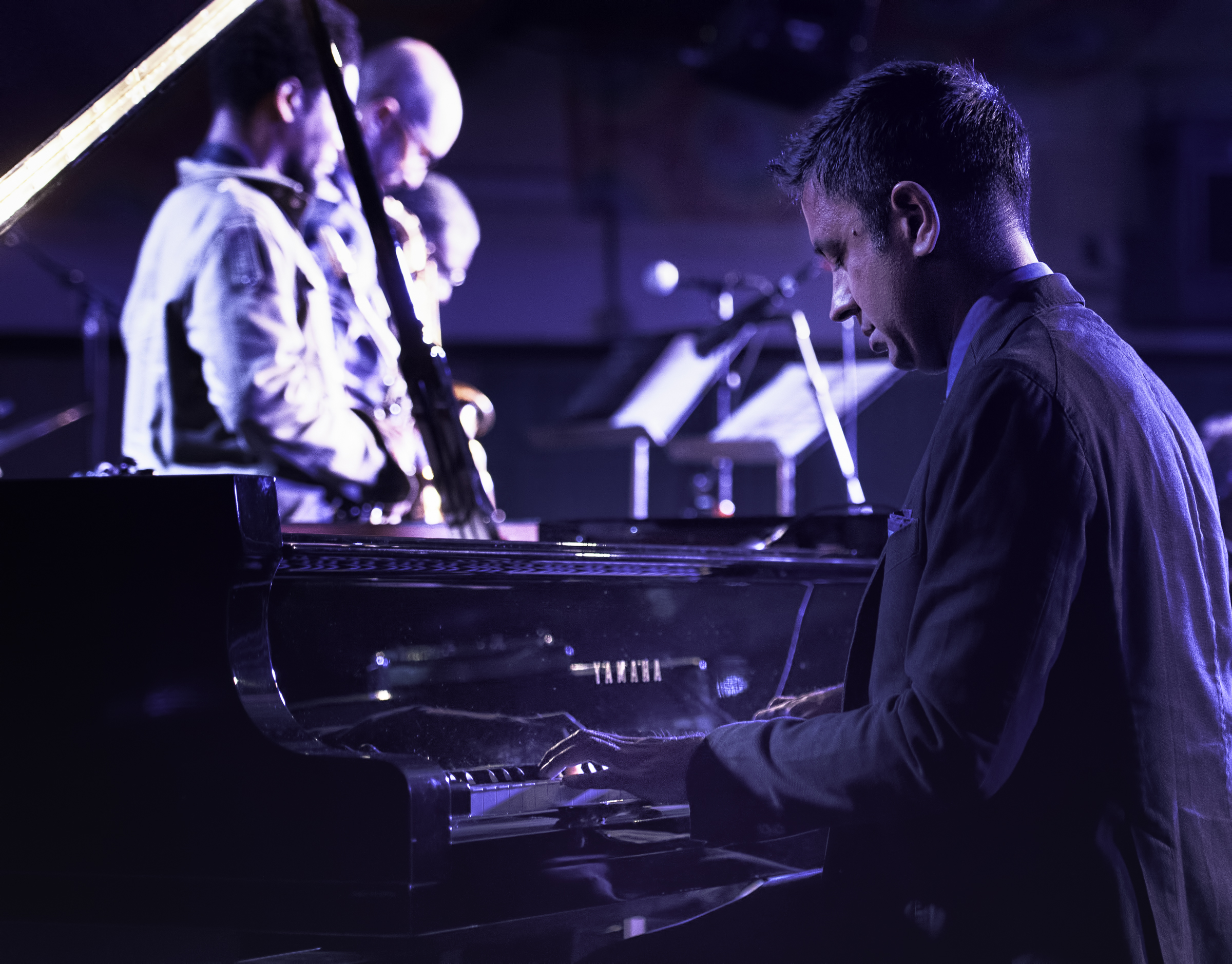 Vijay Iyer with Sextet at the Monterey Jazz Festival