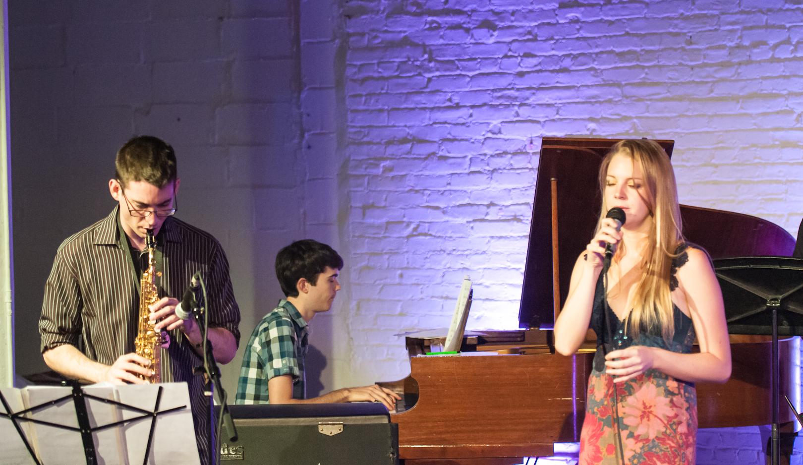 Michael Thomas, Lee Fish and Aubrey Johnson at Inner Circle Music Festival at Shapeshifter Lab