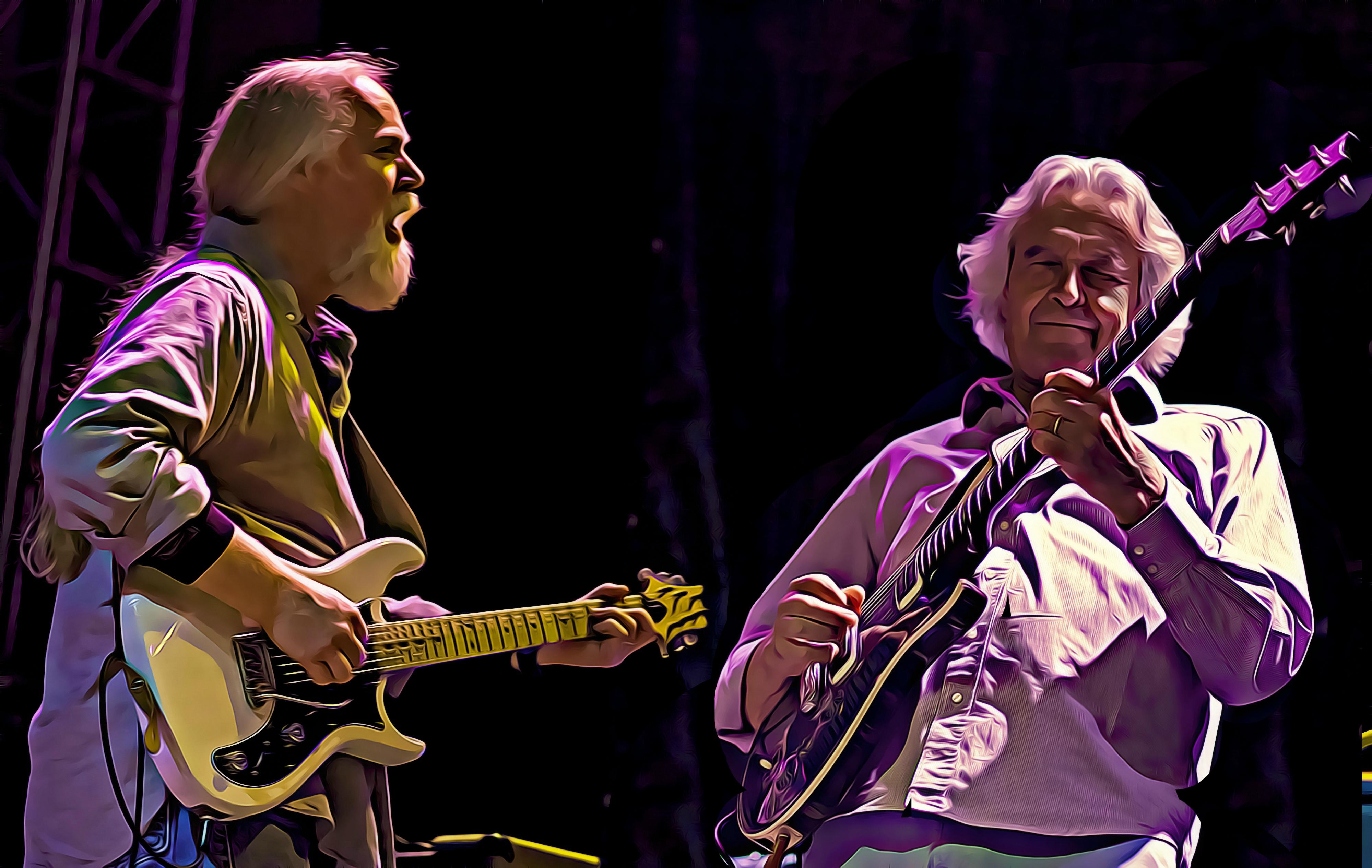 Jimmy Herring, John McLaughlin
