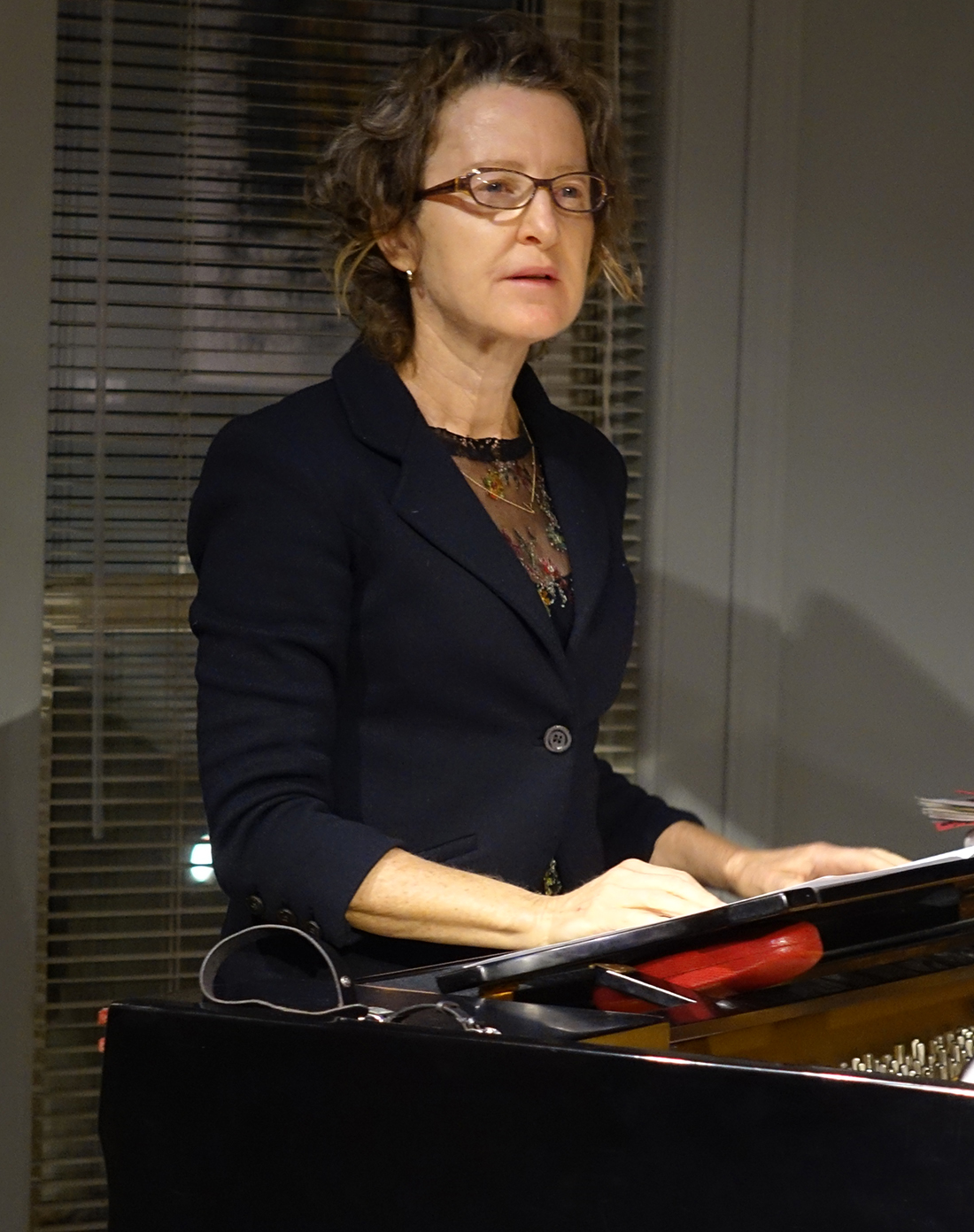 Myra Melford at Edgefest 2014