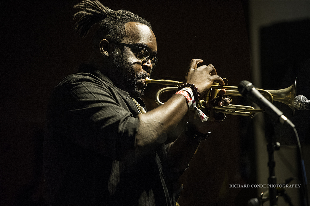 Marquis Hill at the 2018 Winter Jazz Festival