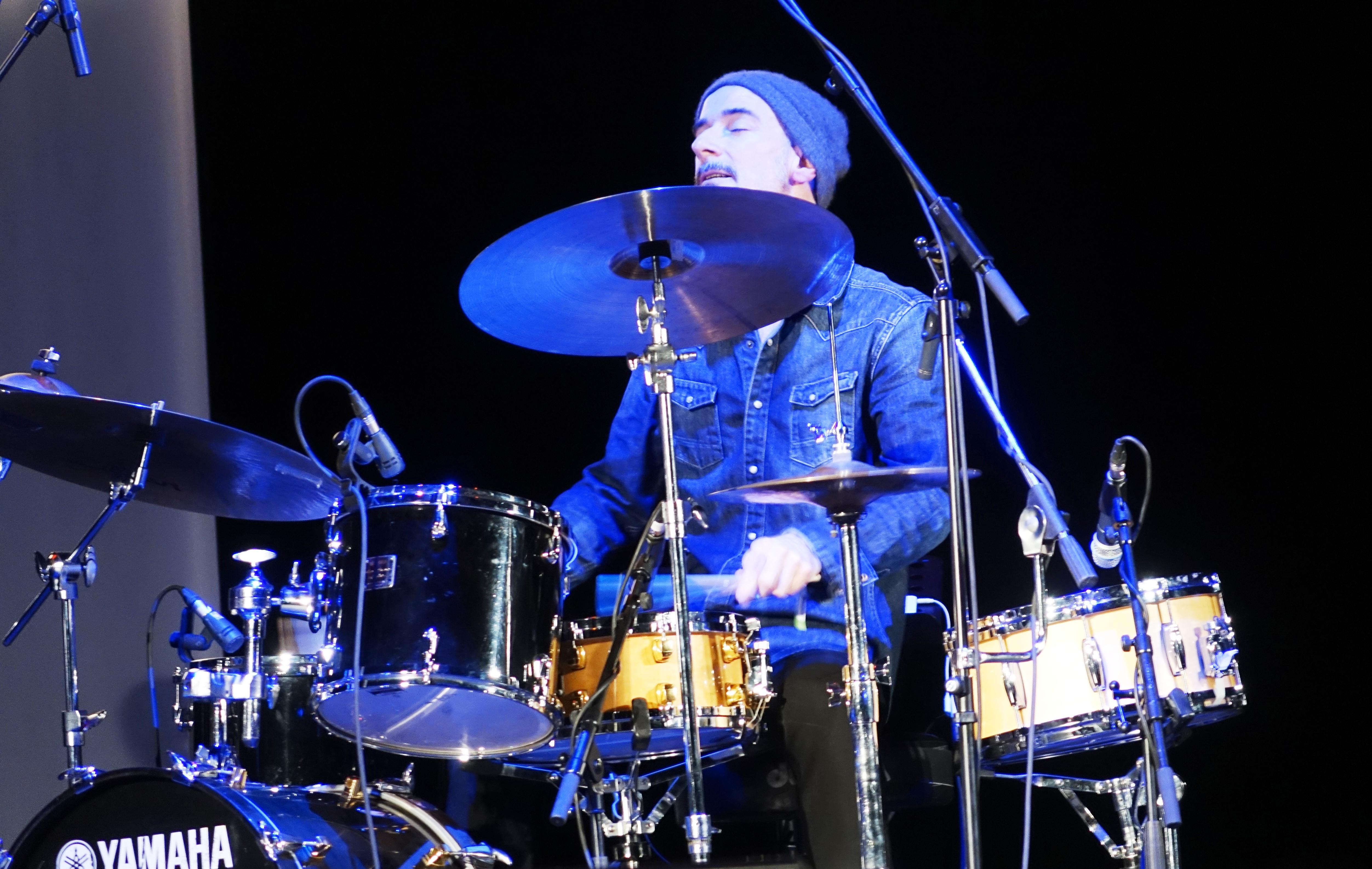 Evan Jenkins at the Vilnius Mama Jazz Festival in November 2017