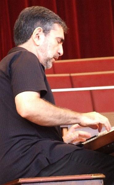 Mike Ledonne Leading His Quartet at 2010 Chicago Jazz Festival