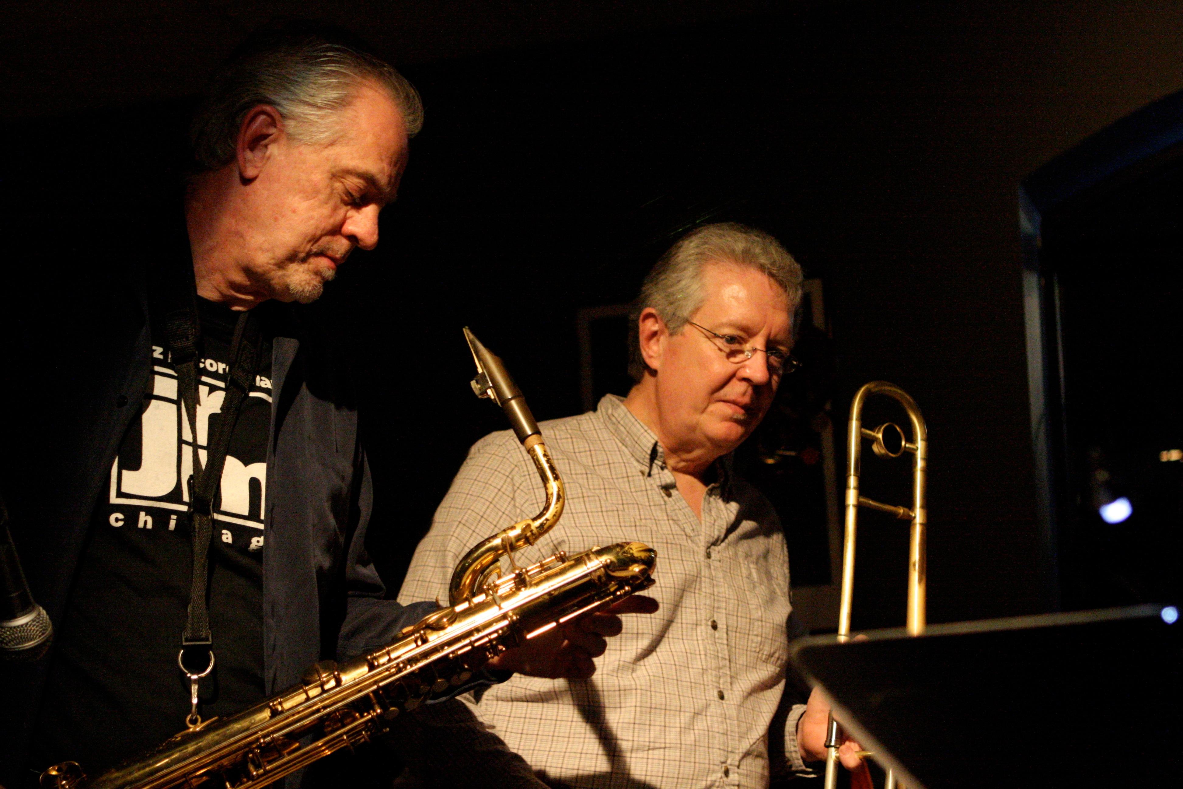 Glenn and Jim Pugh - Trombari