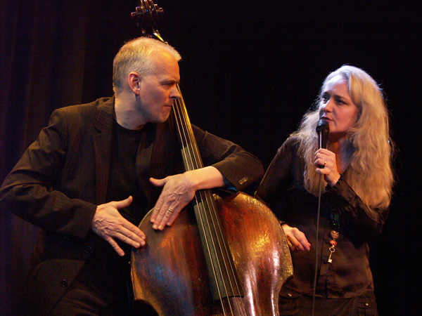 Danish Vocalist Caecilie Norby with Bassist/Husband Lars Danielsson