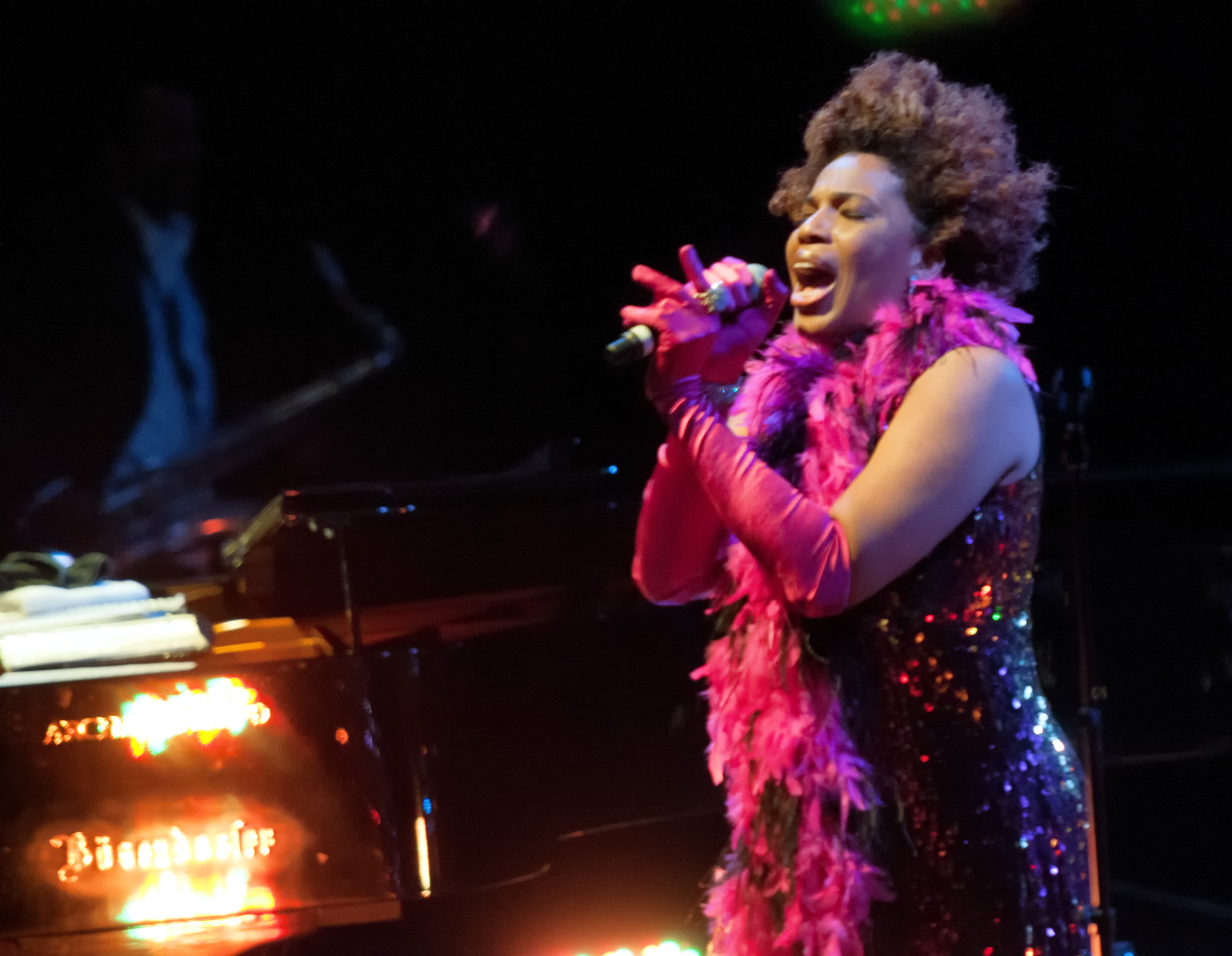 Macy gray with the david murray infinity quartet at the montreal international jazz festival 2013