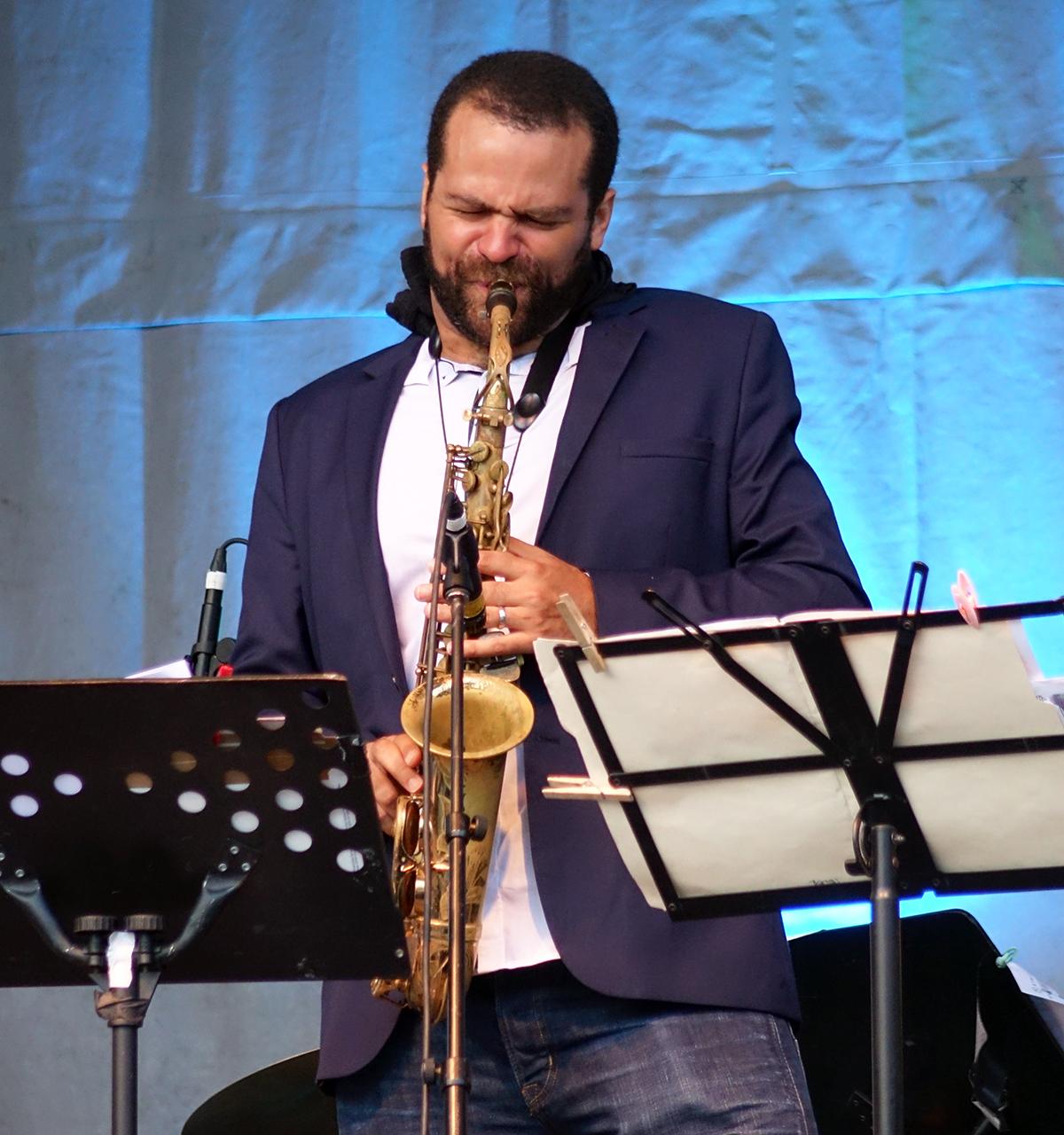 Greg Ward at Guelph Jazz Festival 2015