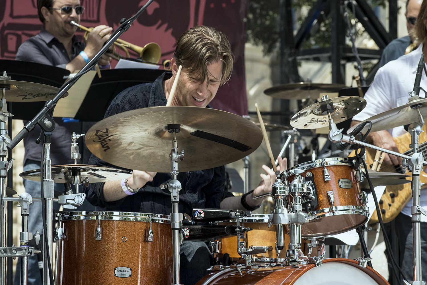 Tommy Igoe at San Jose Jazz Summer Fest 2017