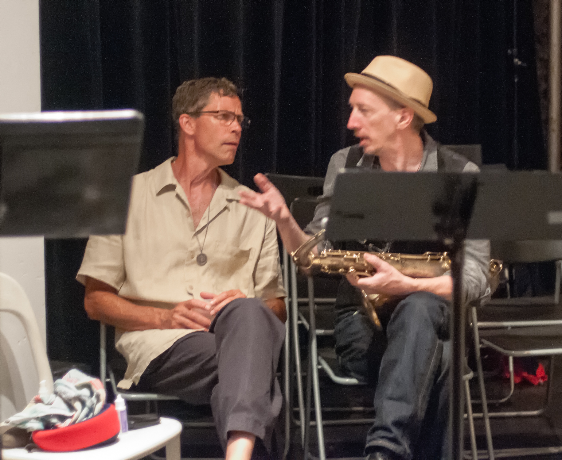 Ray anderson and ellery eskelin at the stone