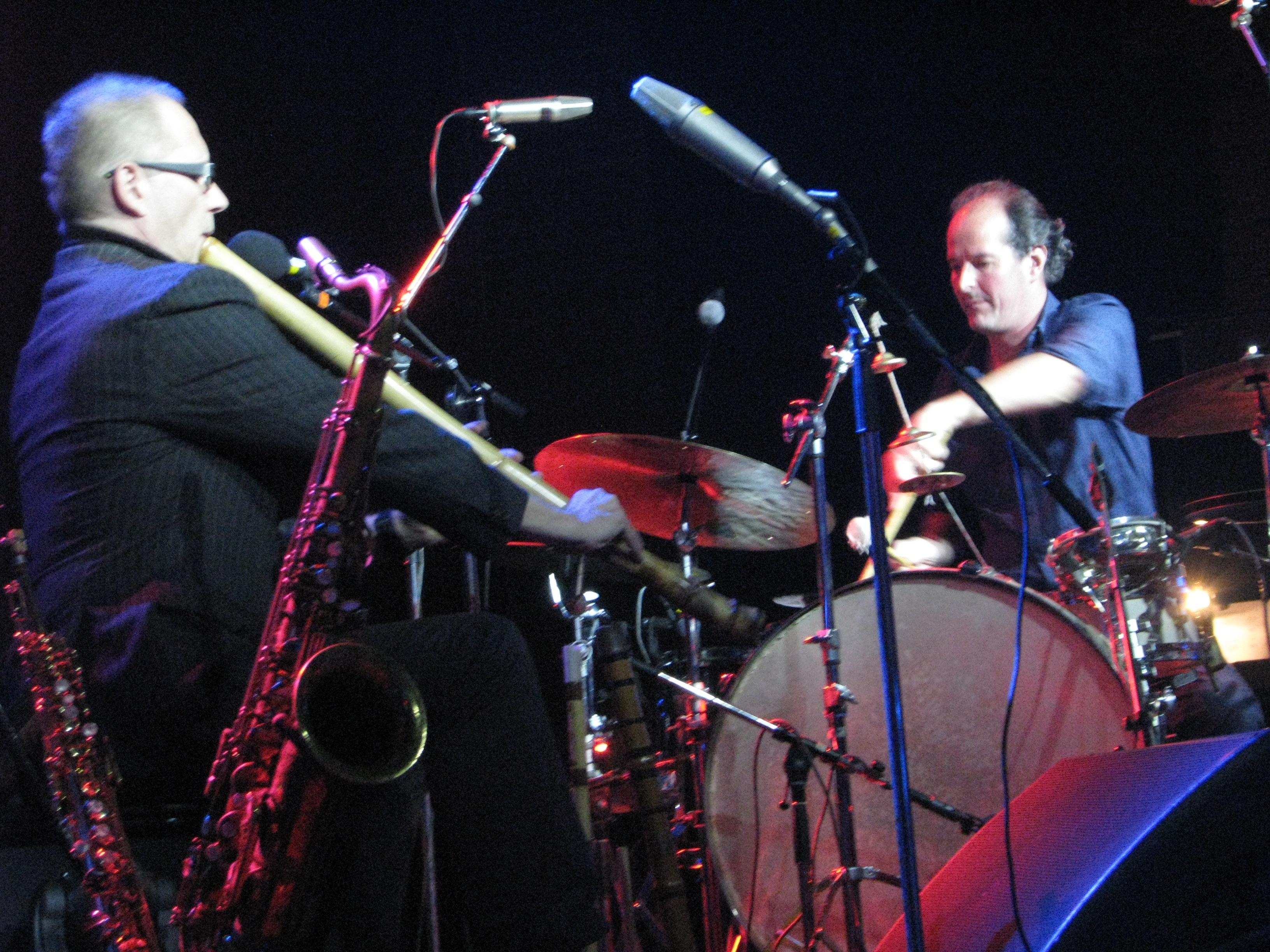 Markku Ounaskari, Jone Takamäki Tampere Jazz Happening 2014