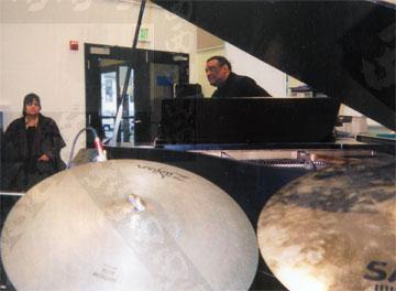 Joe Chambers at Marin Academy