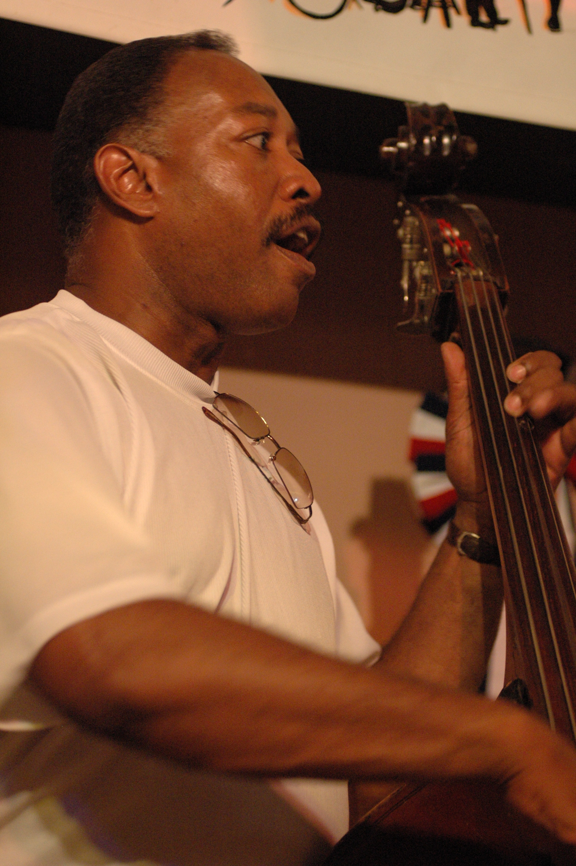 Bassist Lee Smith