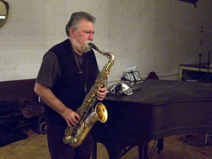 Evan Parker - Issue Project Room 2008