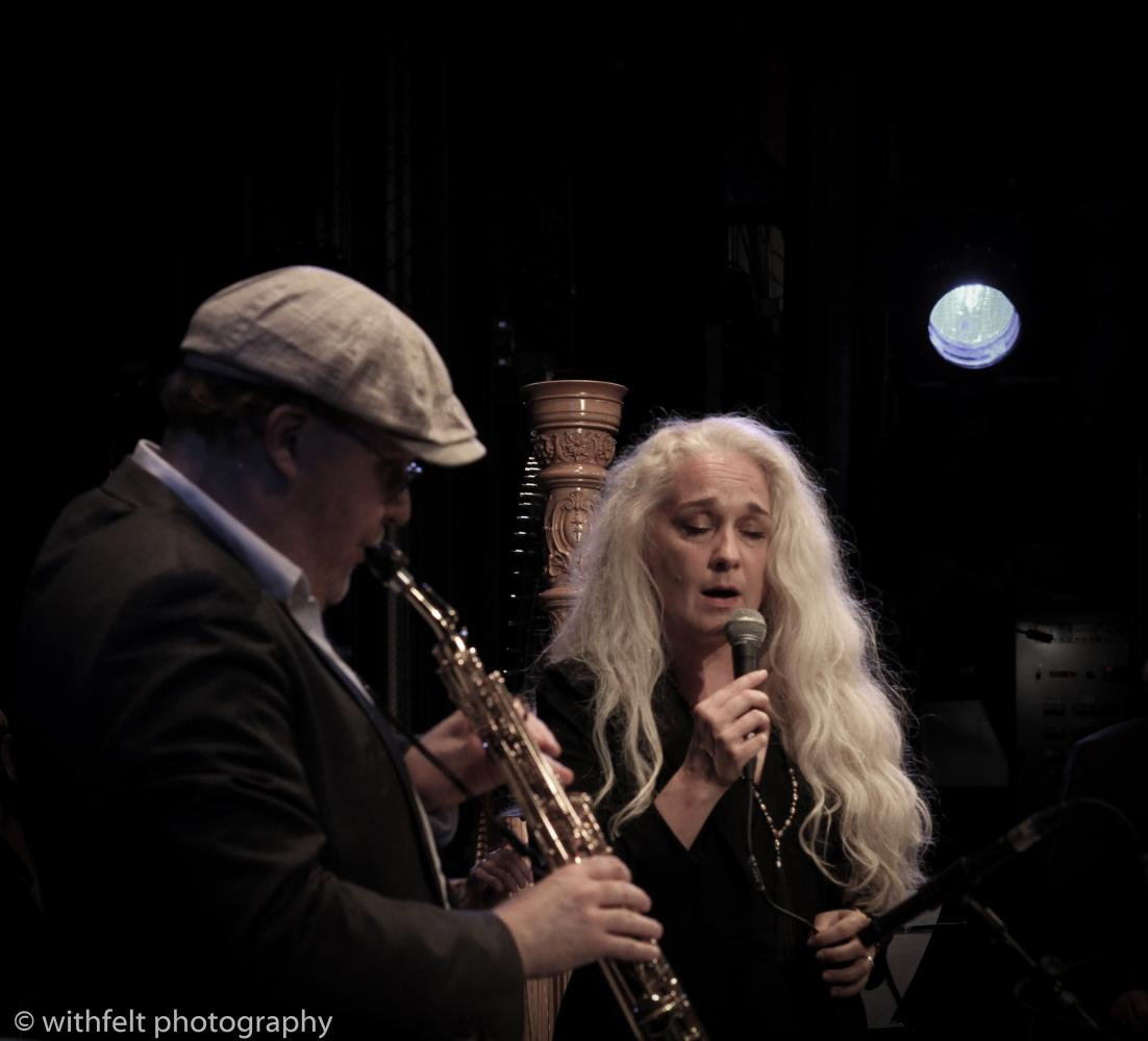 Benjamin Koppel & Caecilie Norby at Summer Jazz 2016 in Copenhagen