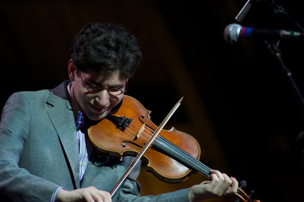 Aaron Weinstein at the Litchfield Jazz Festival