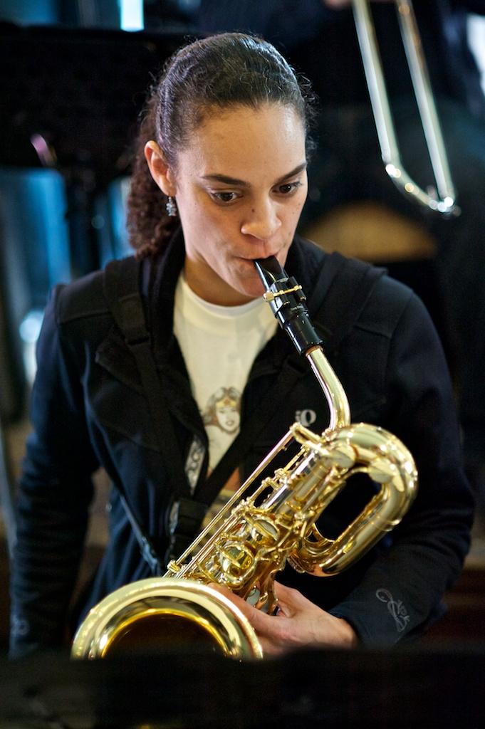 Erica Jensen with the Toronto Jazz Orchestra, the Rex, Toronto