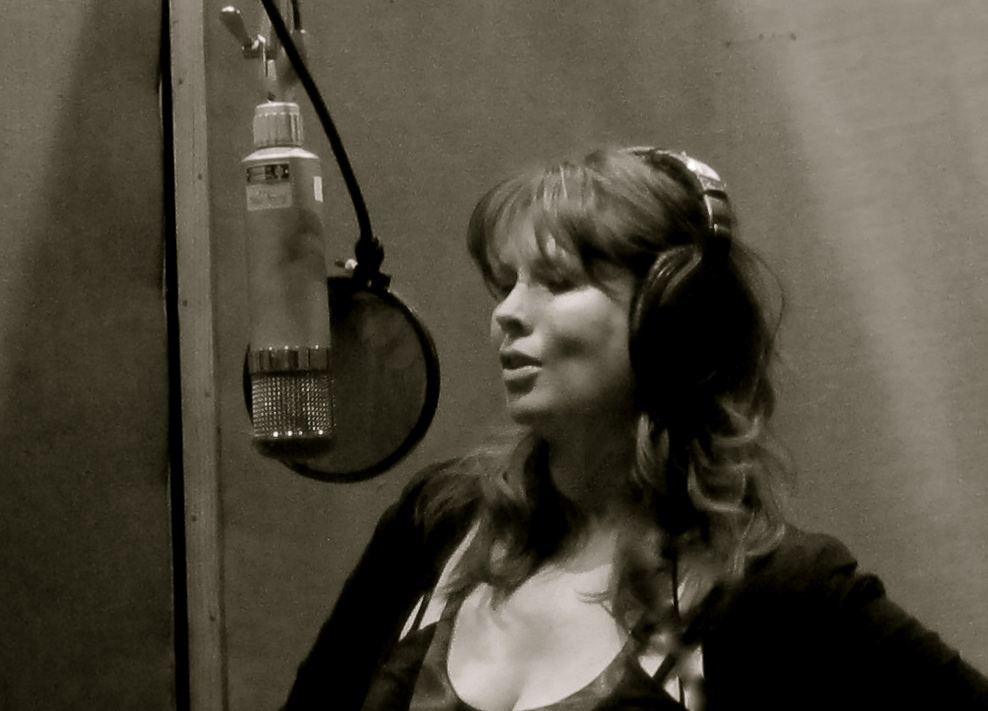 Lissy Walker Recording Wonderland at Fantasy Studios