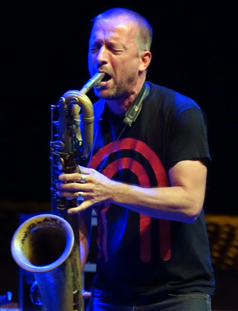 Mats Gustafsson in Sardinia 2016