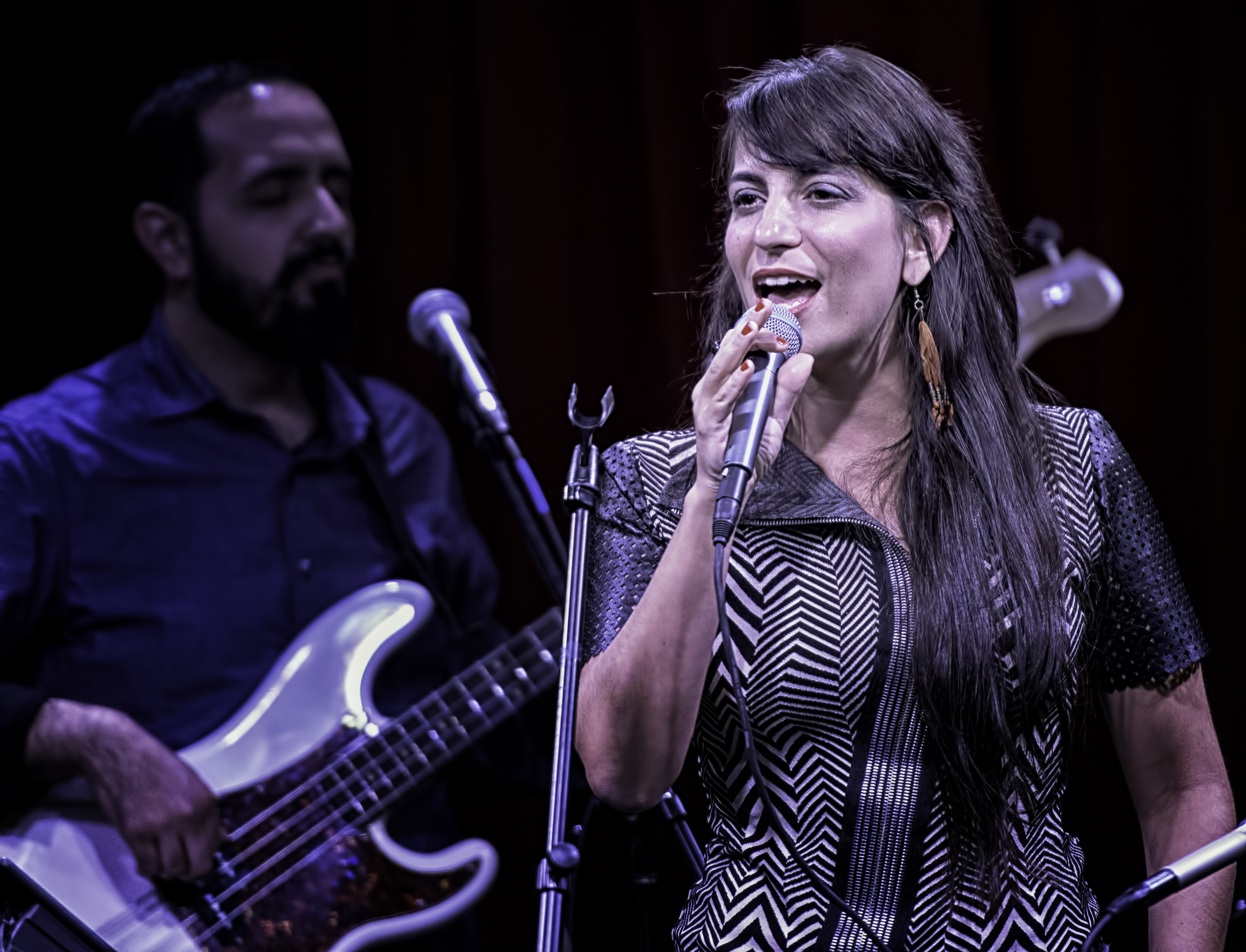 Sofia Rei and Jorge Roeder At The NYC Winter Jazzfest 2016