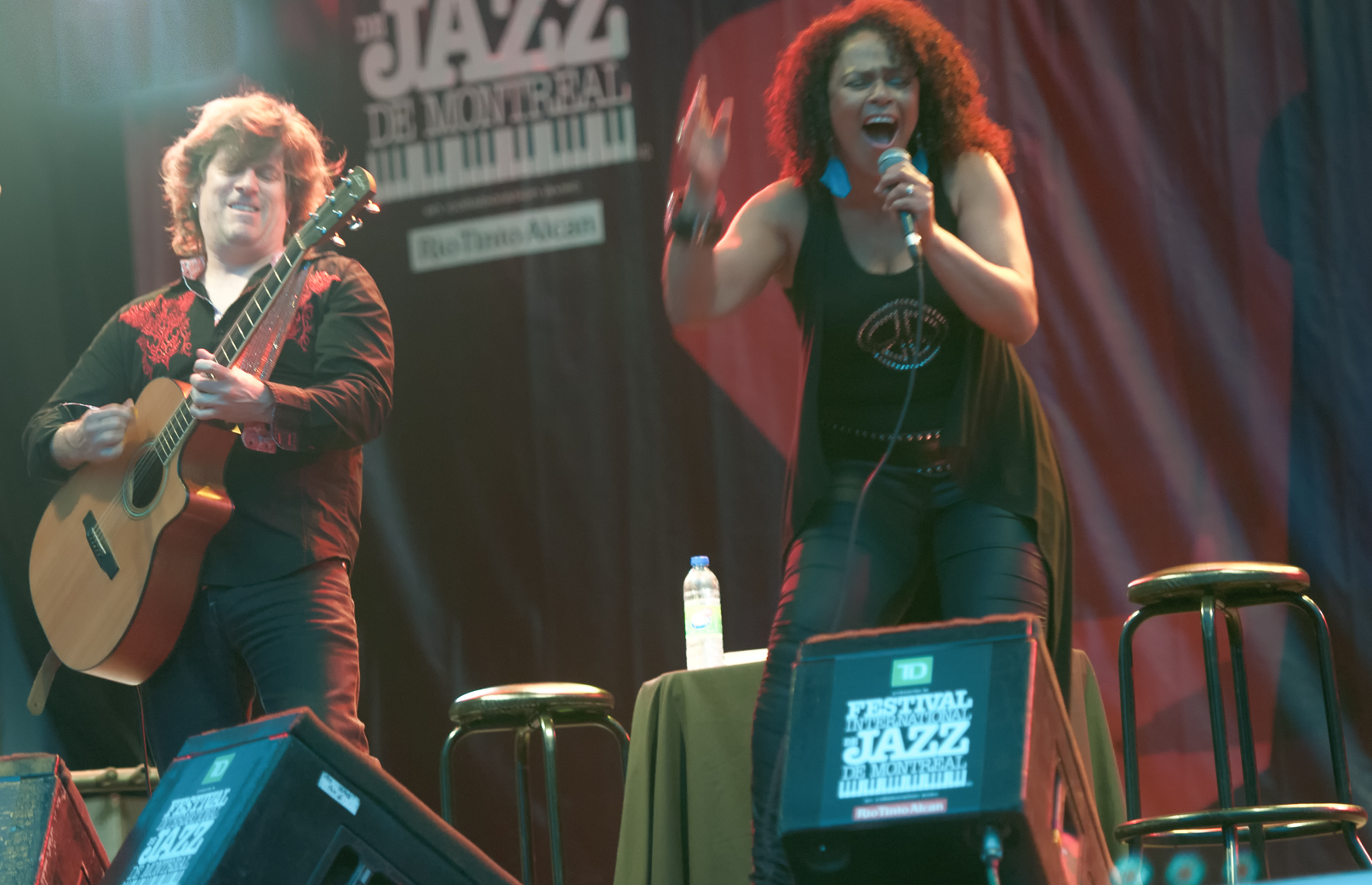 Paul deslaurier and dawn tyler watson at the montreal international jazz festival 2013