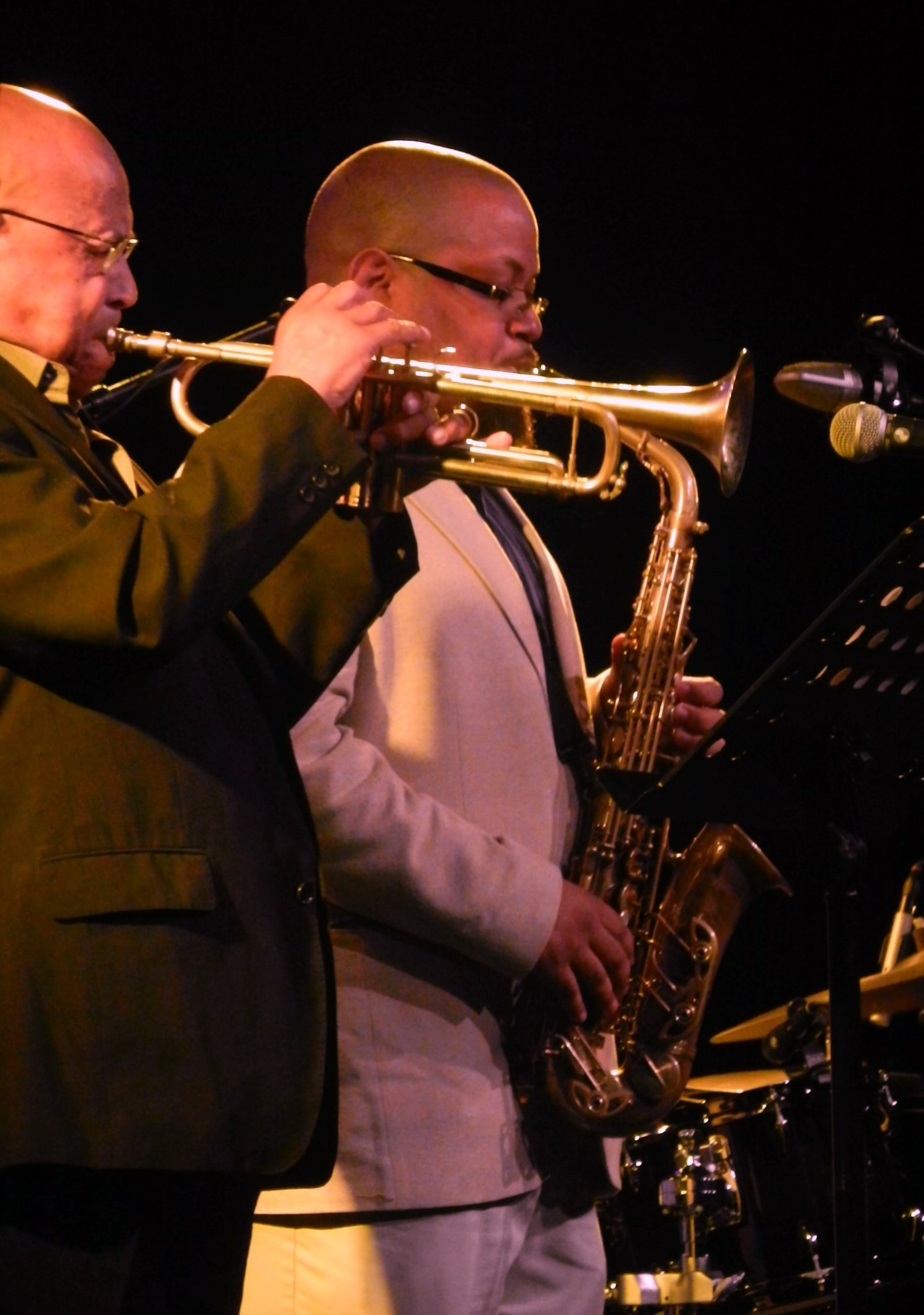 Eddie henderson and juston robinson