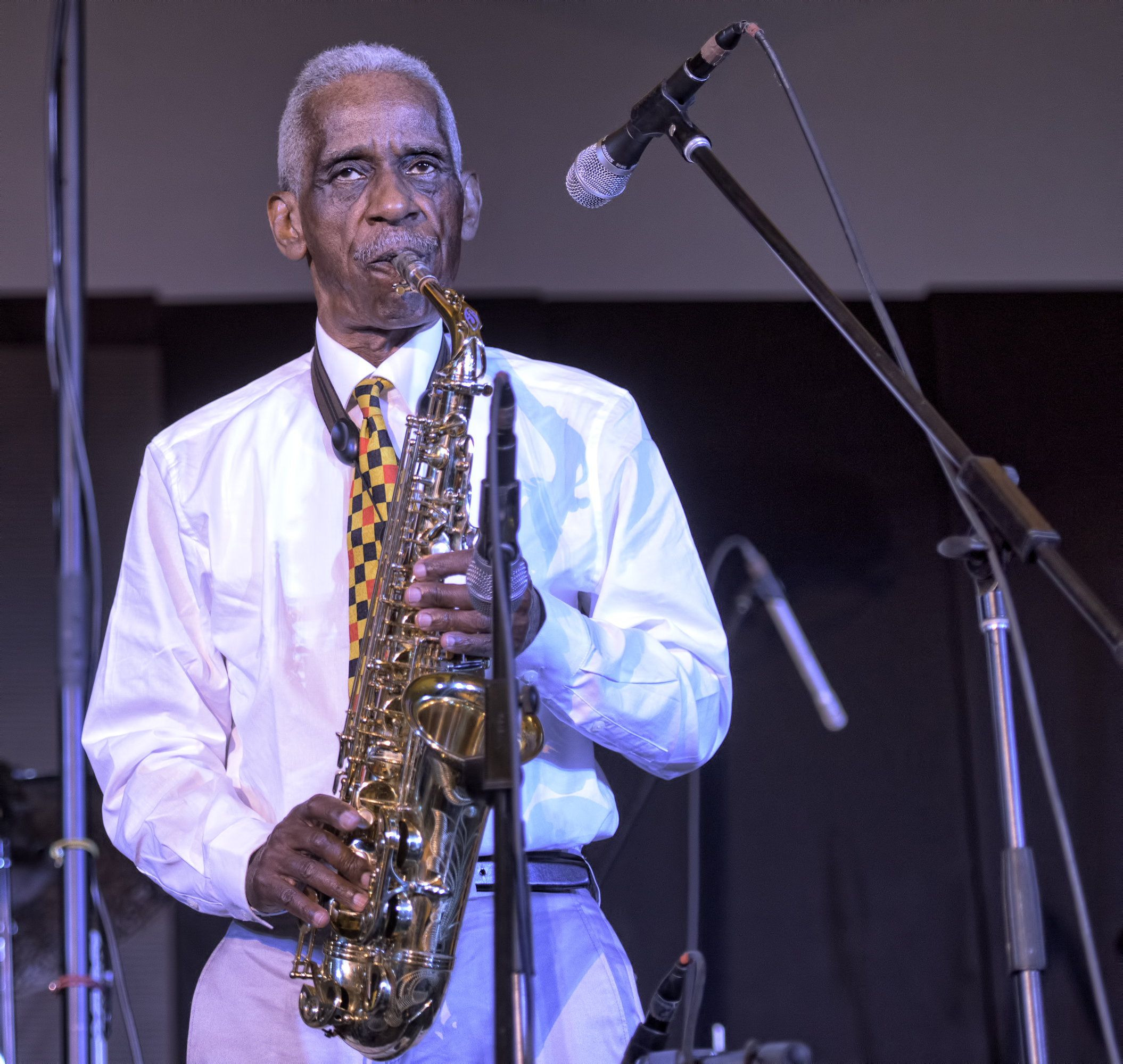 Roscoe Mitchell at the 20th Anniversary Vision Festival 2015