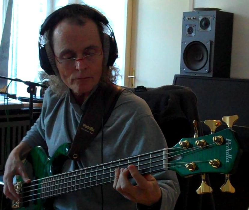 Mark Recording w/Tierra Negre in Germany