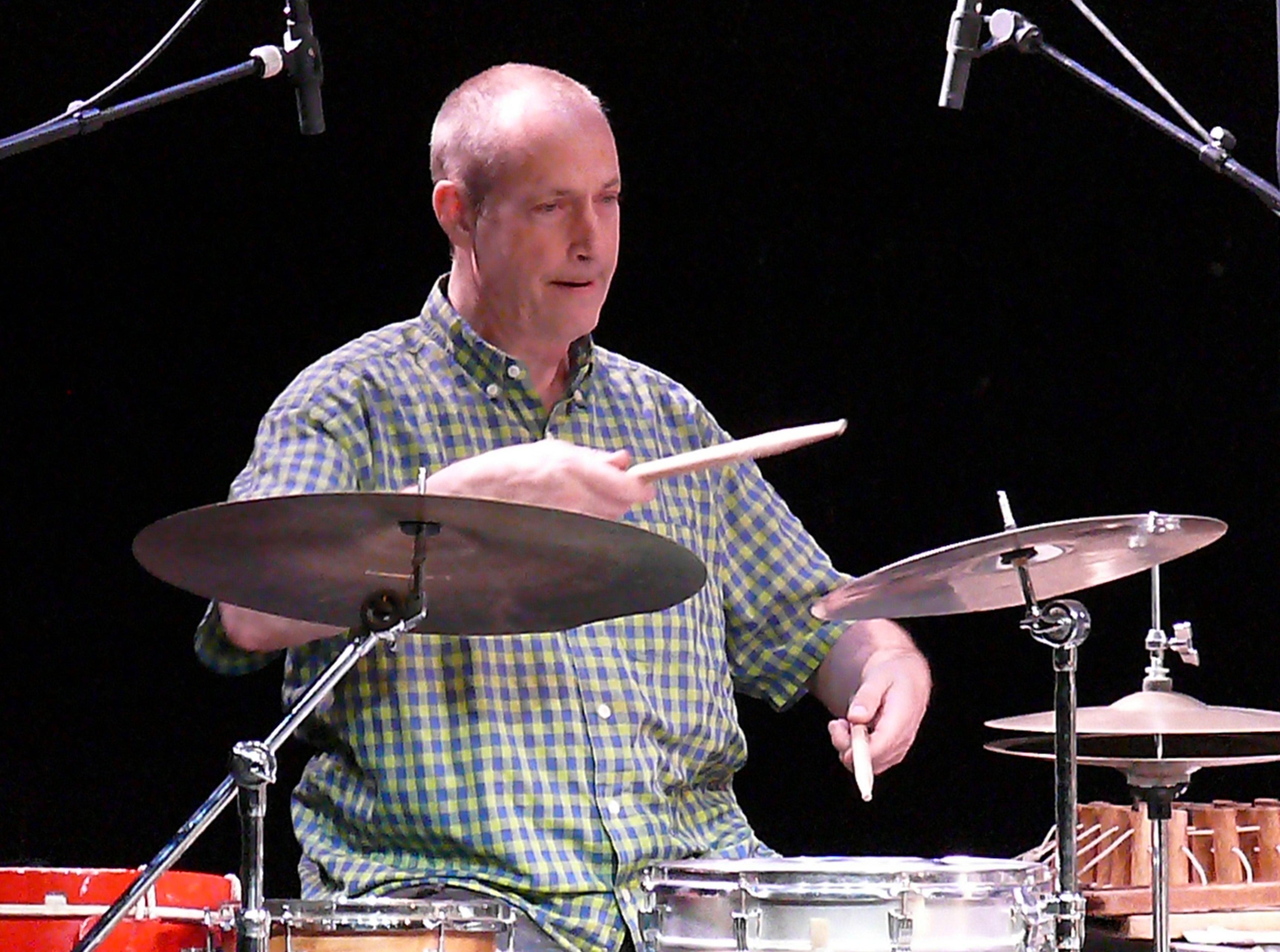 Michael Vatcher in Groningen, August 2011