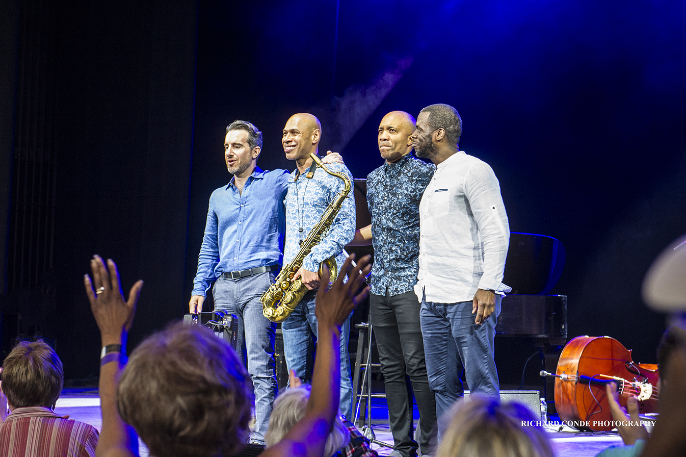 Joshua Redman Quartet at the Saratoga Jazz Festival