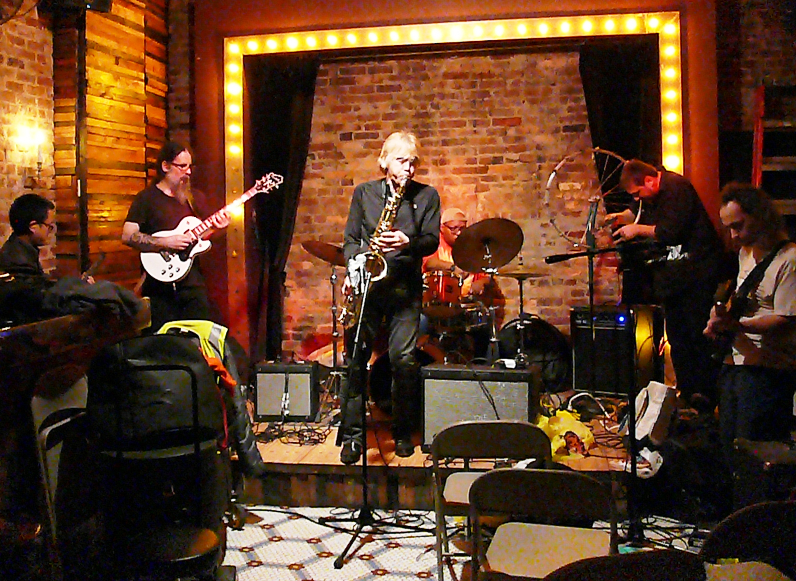 Marc Edwards' Slipstream Time Travel at the Legion Bar, Brooklyn in October 2016