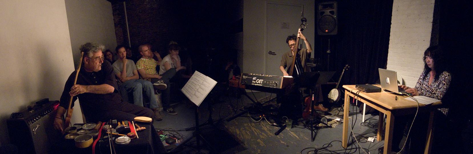 Death Ambient (Fred Frith, Ikue Mori and Kato Hideki) - The Stone 2007